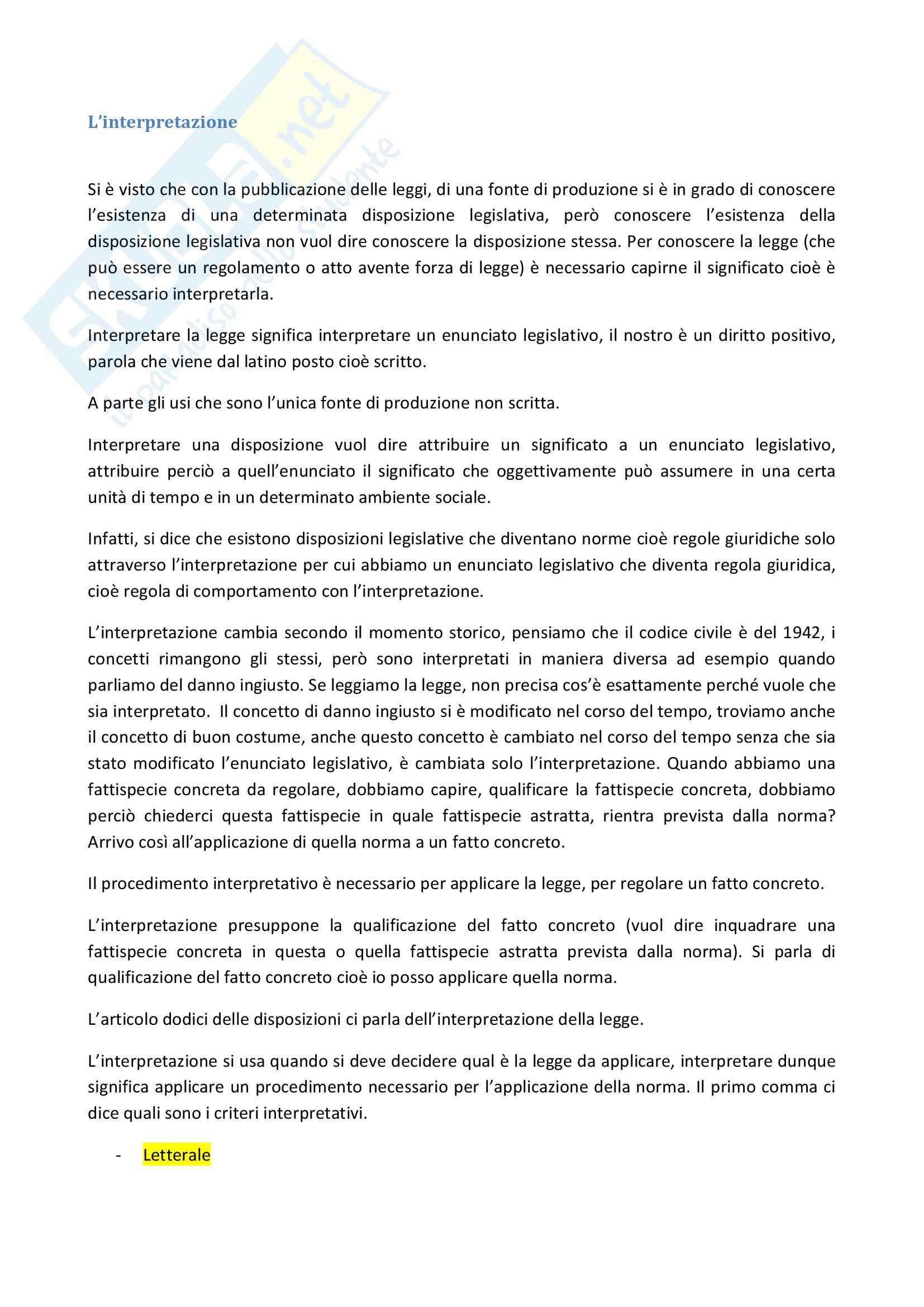 Diritto privato - Appunti Pag. 11