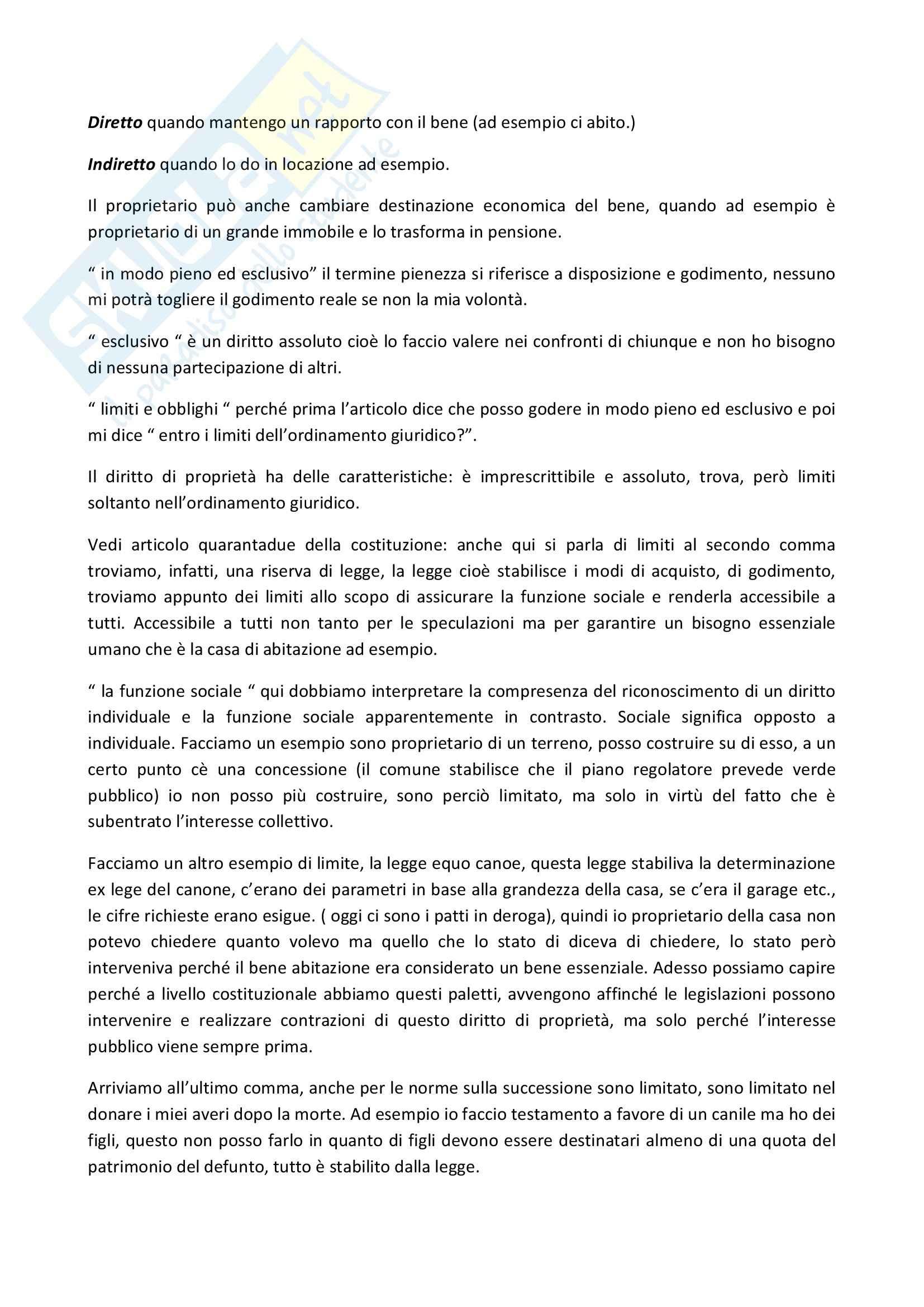 Diritto privato - Appunti Pag. 46