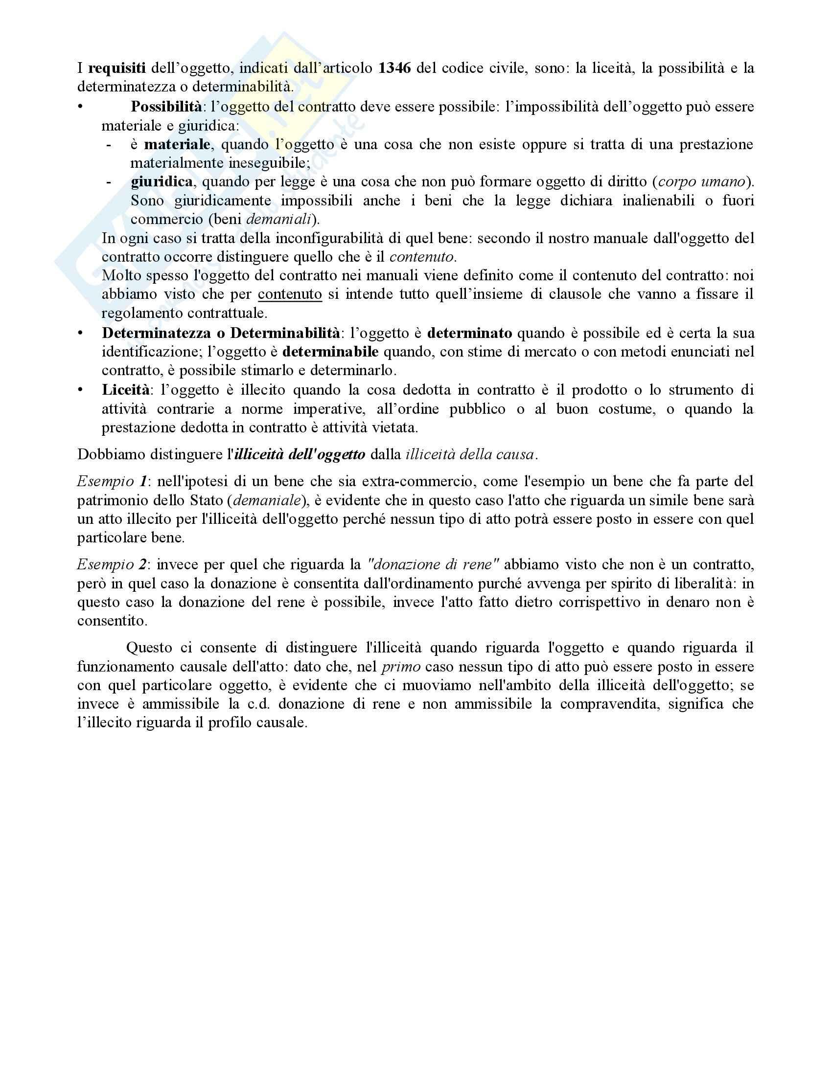 Diritto Civile - Perlingieri – Contratto – Riassunto esame Pag. 2