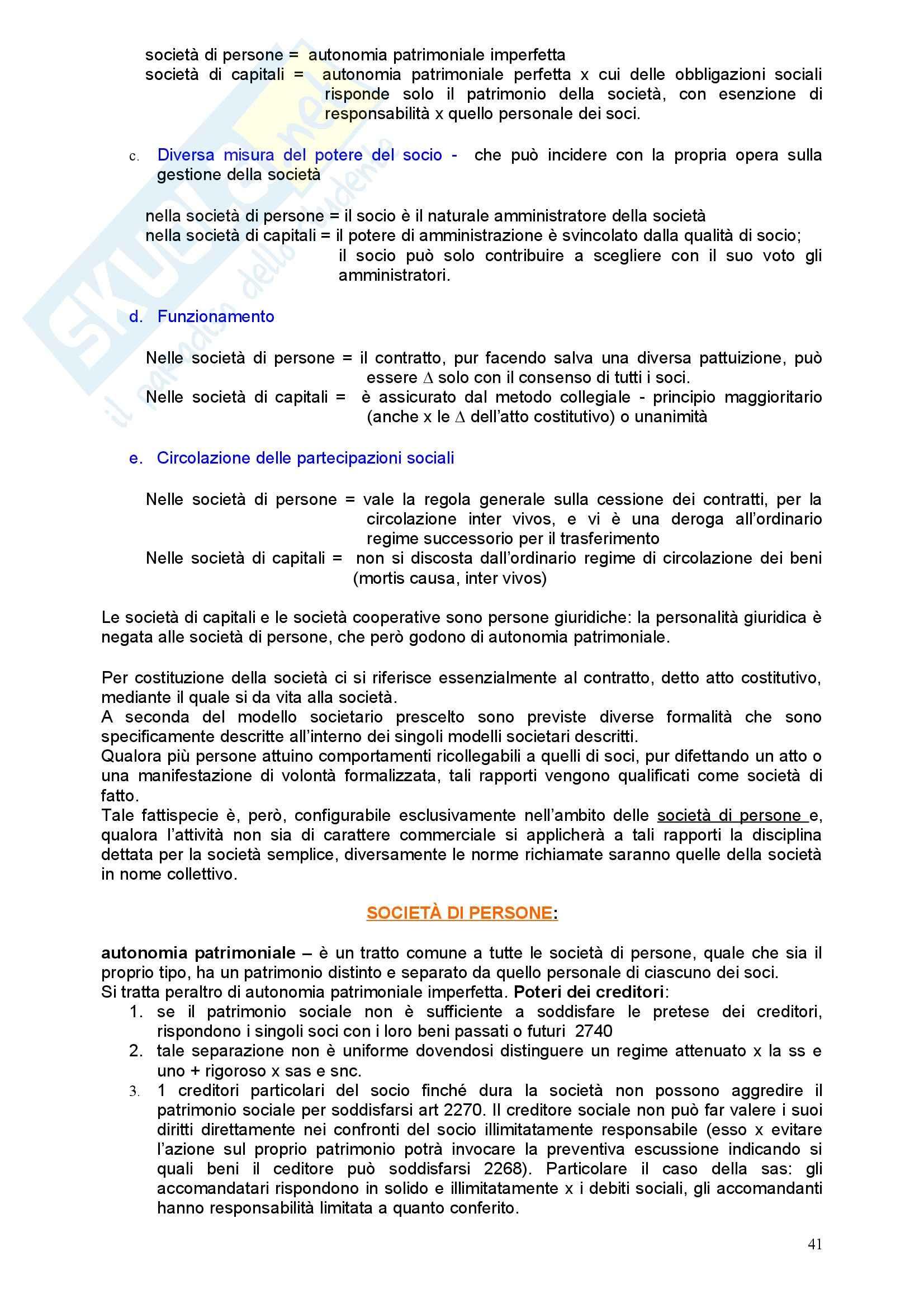 Diritto commerciale - l'imprenditore Pag. 41