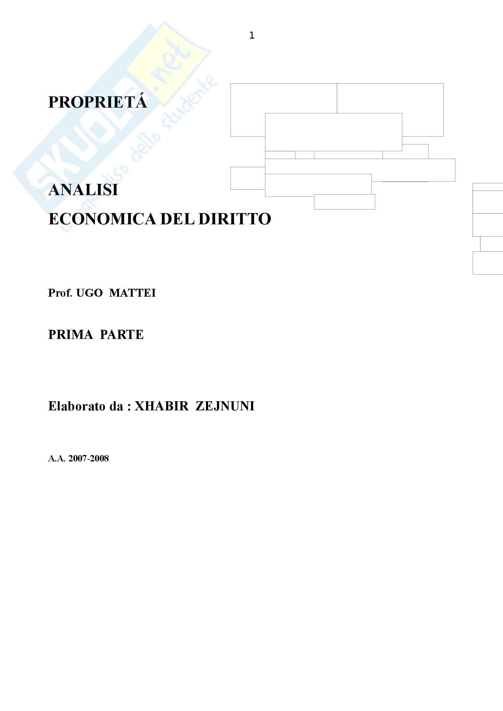 Diritto Civile - prima parte - Appunti