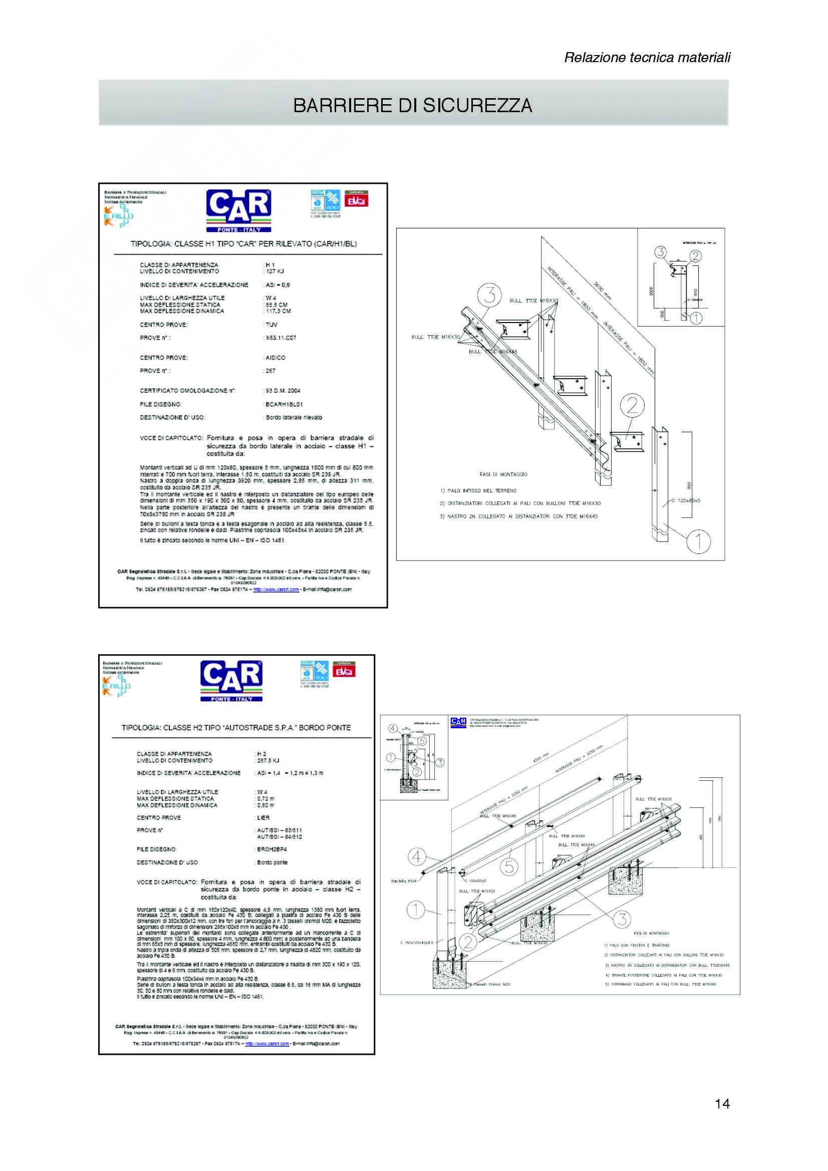 Progetto per la costruzione di una strada extraurbana secondaria di categoria C2 Pag. 36