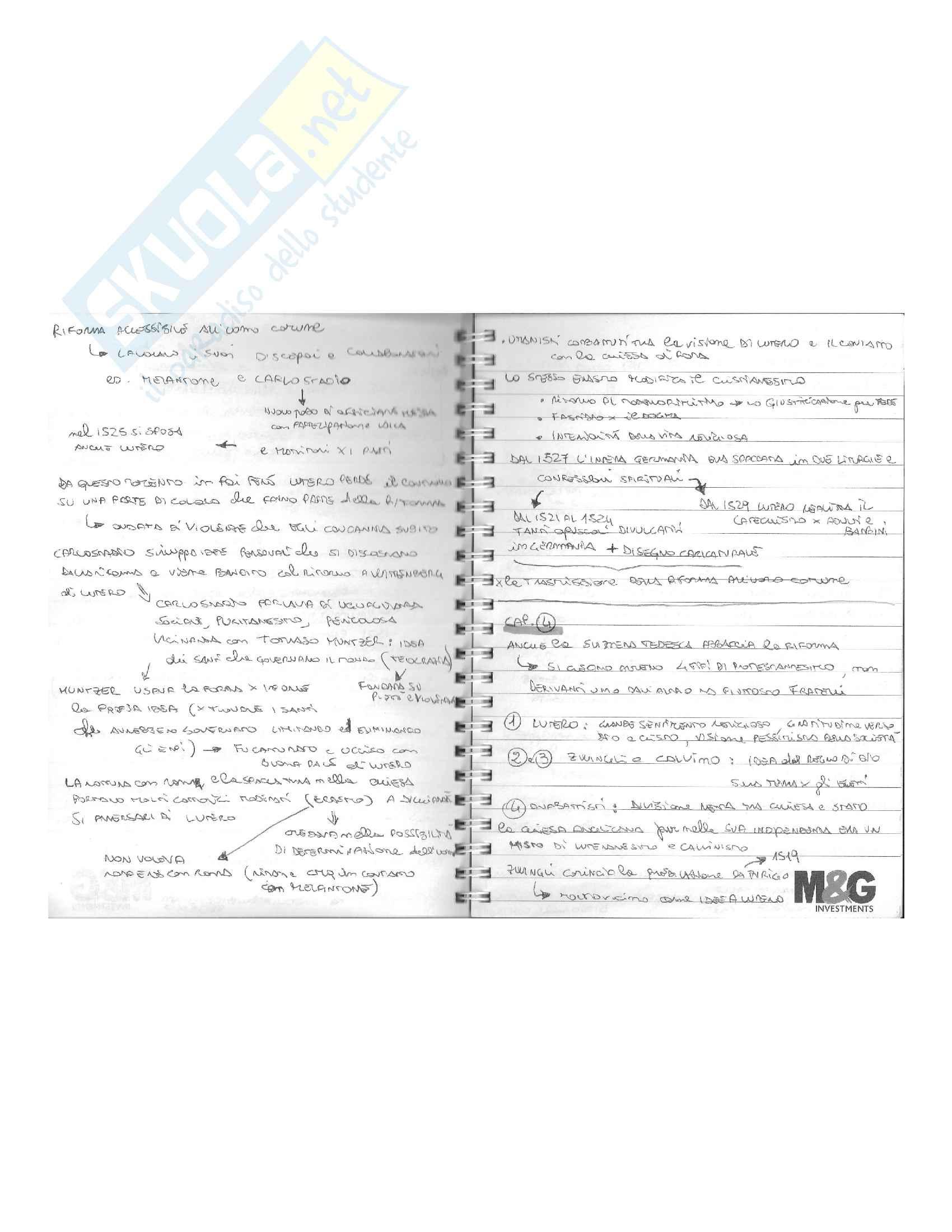 Storia dell'età della Riforma e della Controriforma Pag. 6