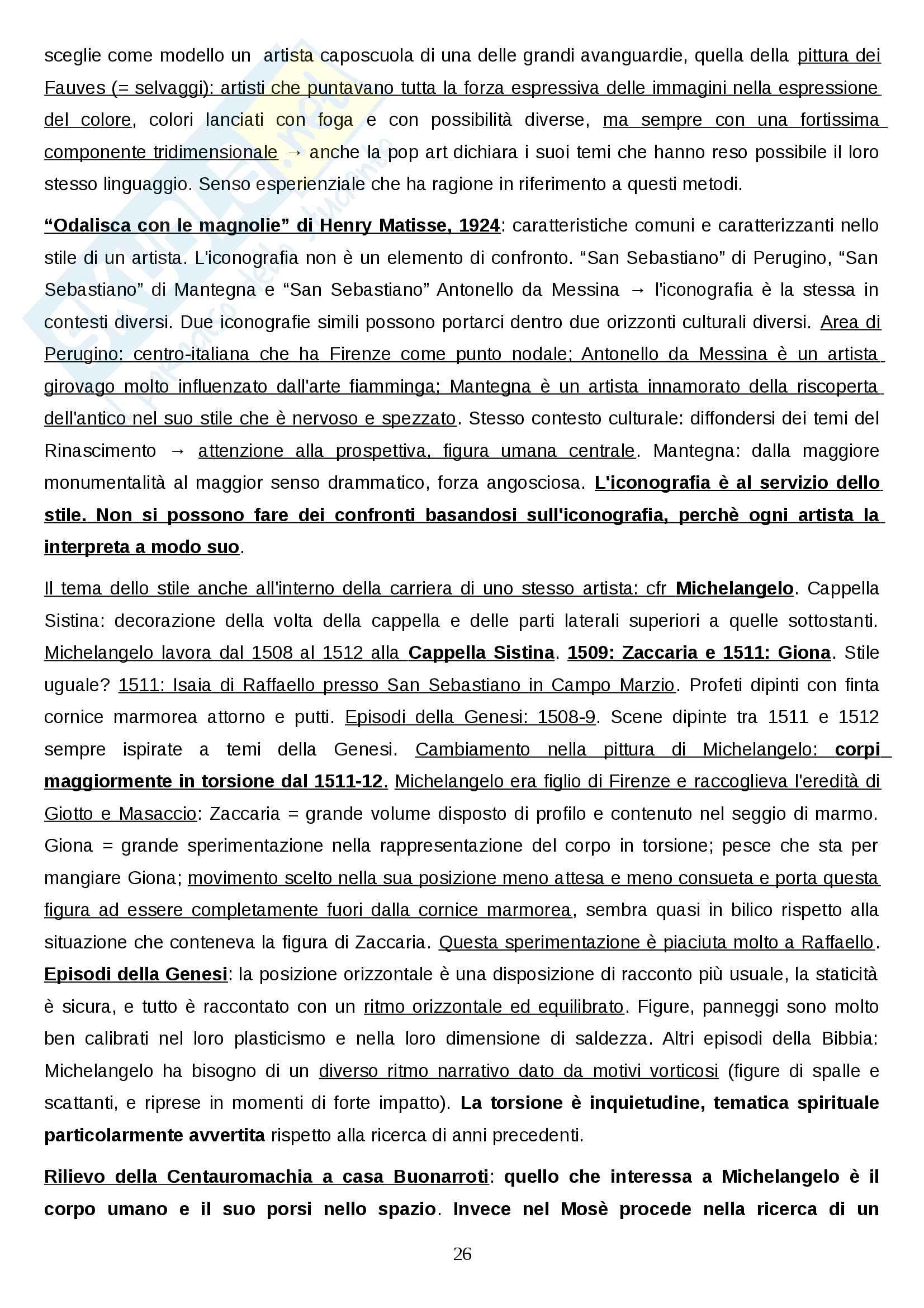 Metodologie della storia dell'arte Pag. 26