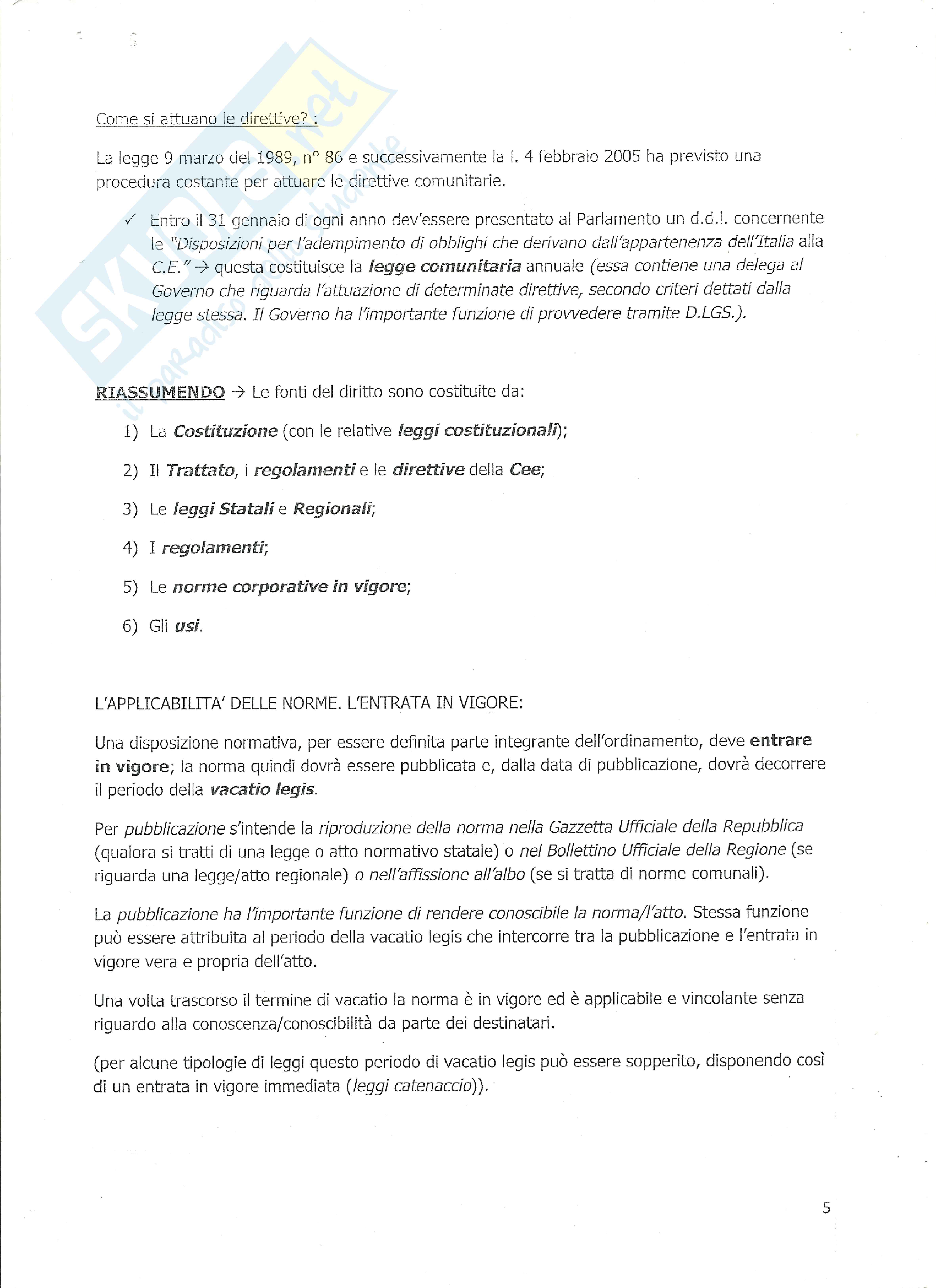 Riassunto Esame Diritto Privato, prof Mucciarelli, Vignudelli, Basenghi, Cotterli Pag. 6
