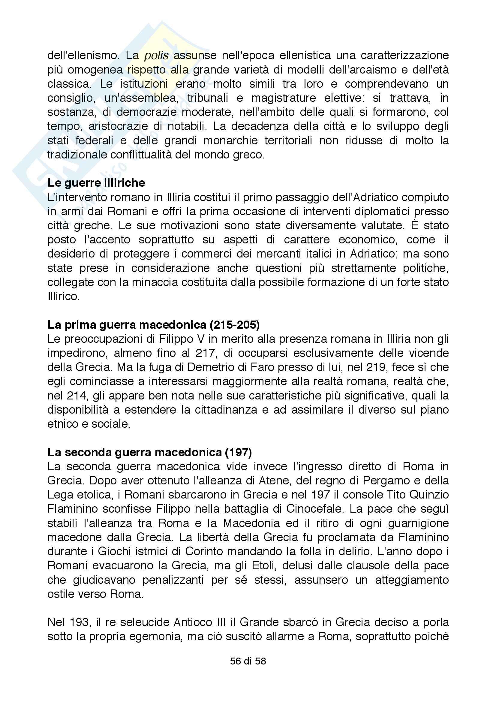 Riassunto esame Storia Greca, Docente Bianchetti Serena, Unversità degli Studi di Firenze Pag. 56