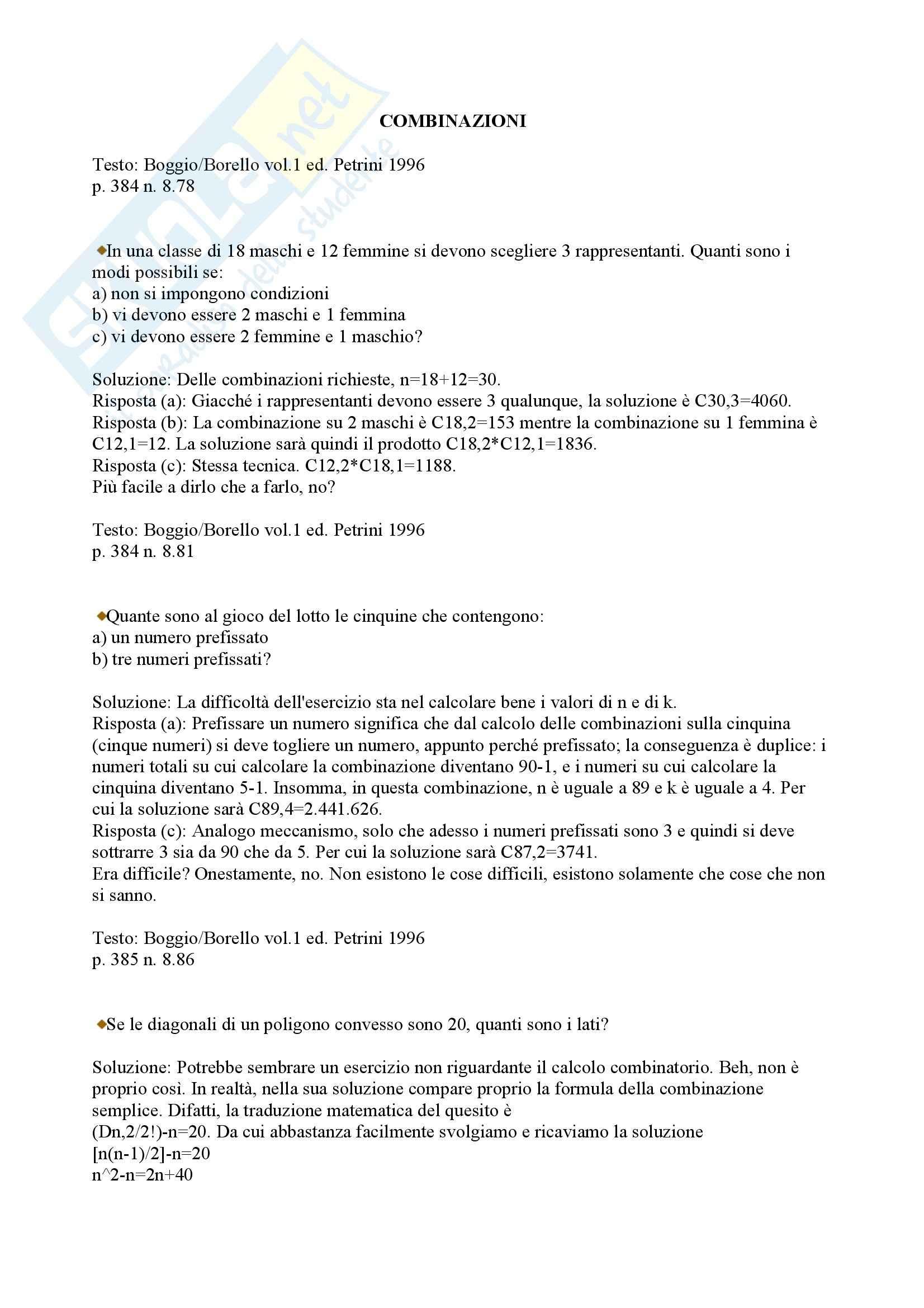 esercitazione M. Bruno matematica generale