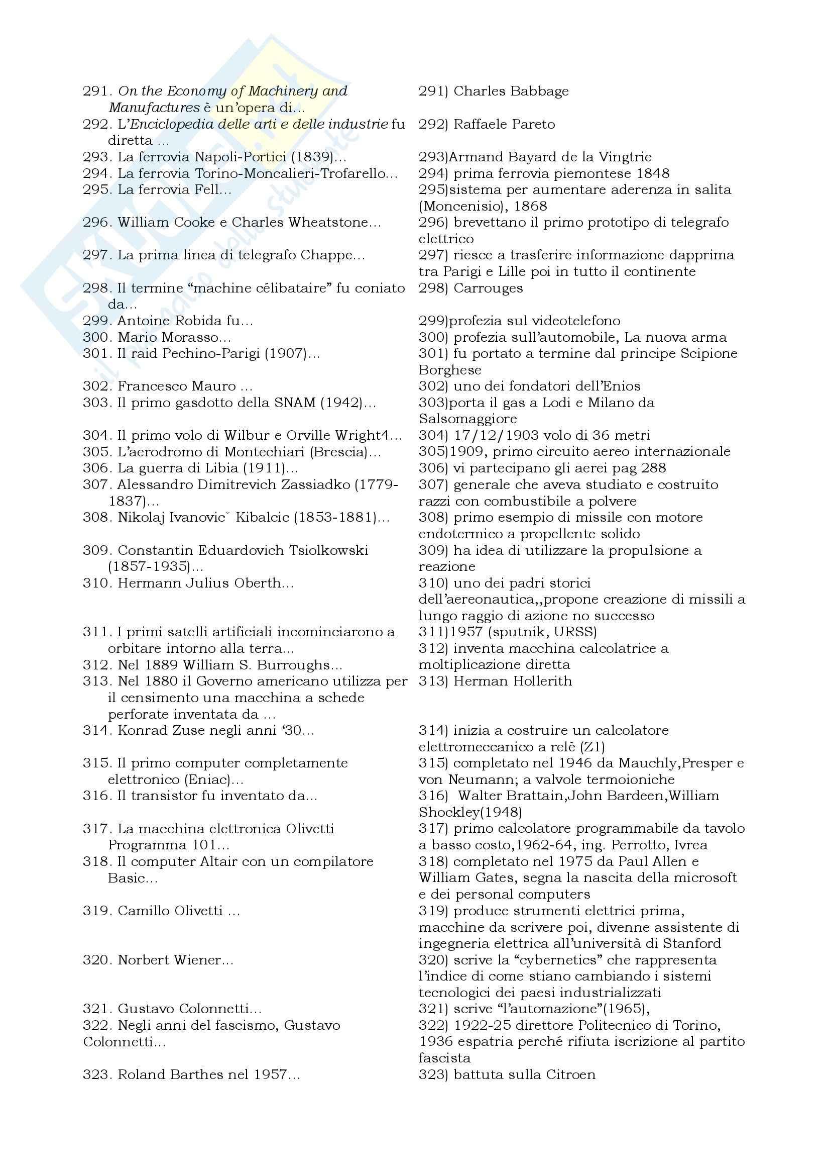 Storia della Tecnologia - Database Quiz Pag. 11