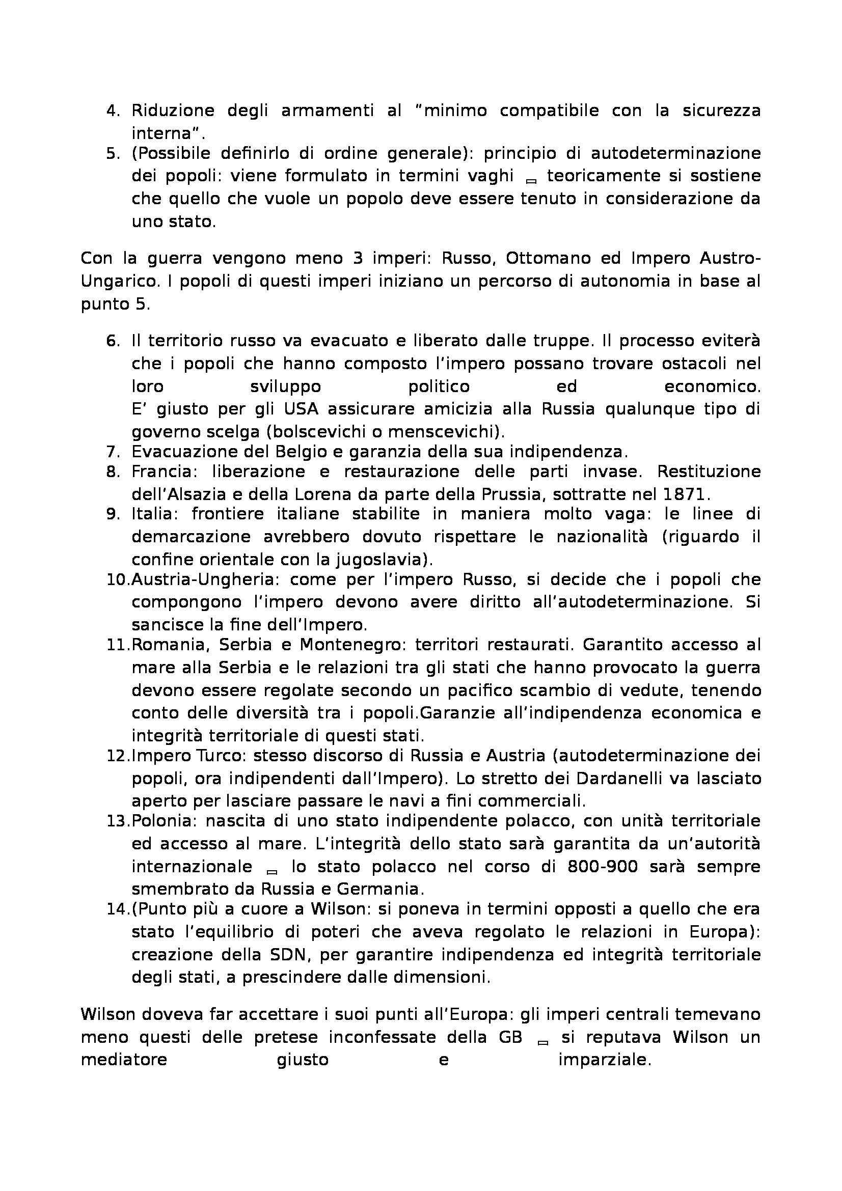 Laboratorio di storia delle relazioni euro atlantiche - Appunti Pag. 16