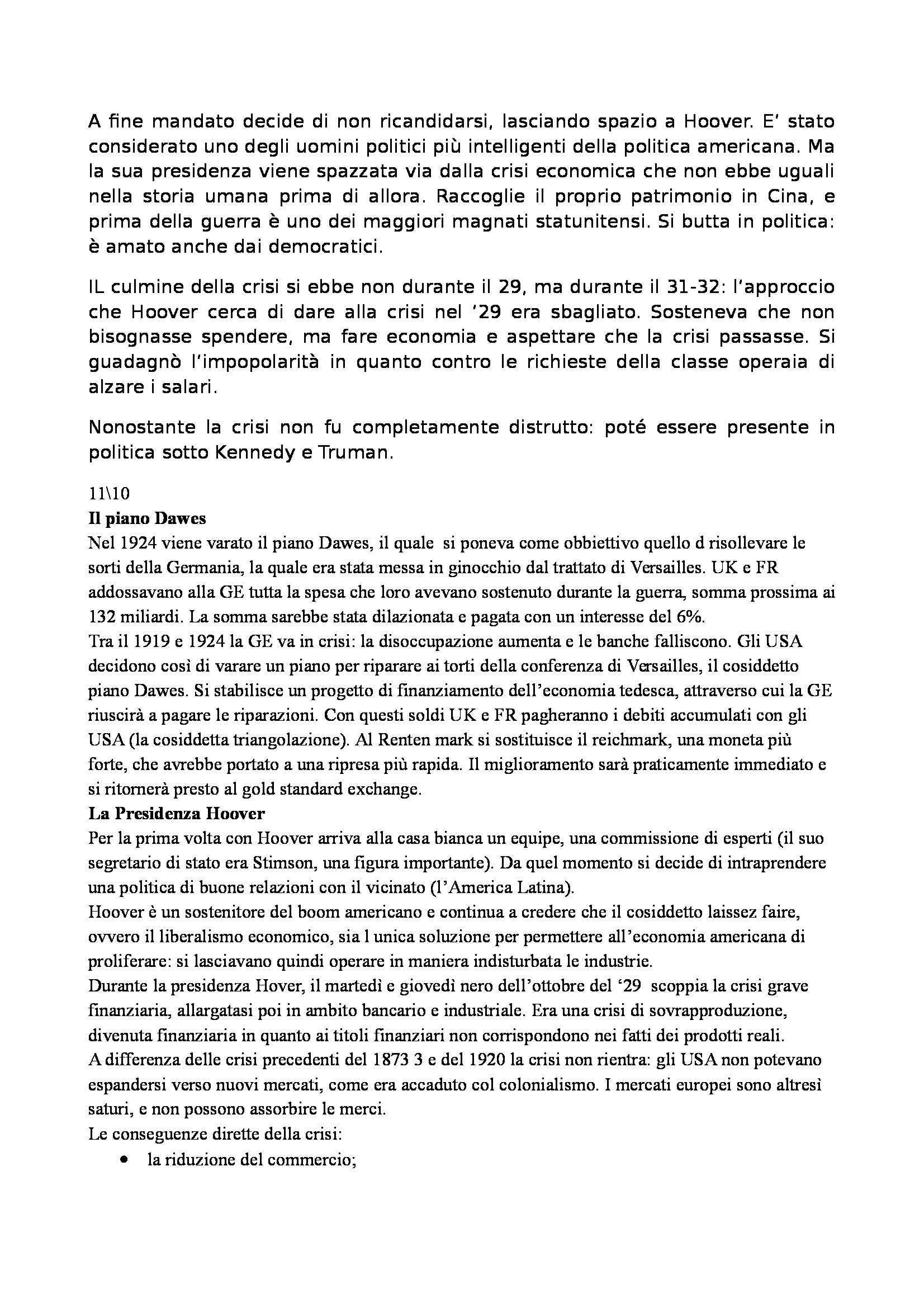 Laboratorio di storia delle relazioni euro atlantiche - Appunti Pag. 21