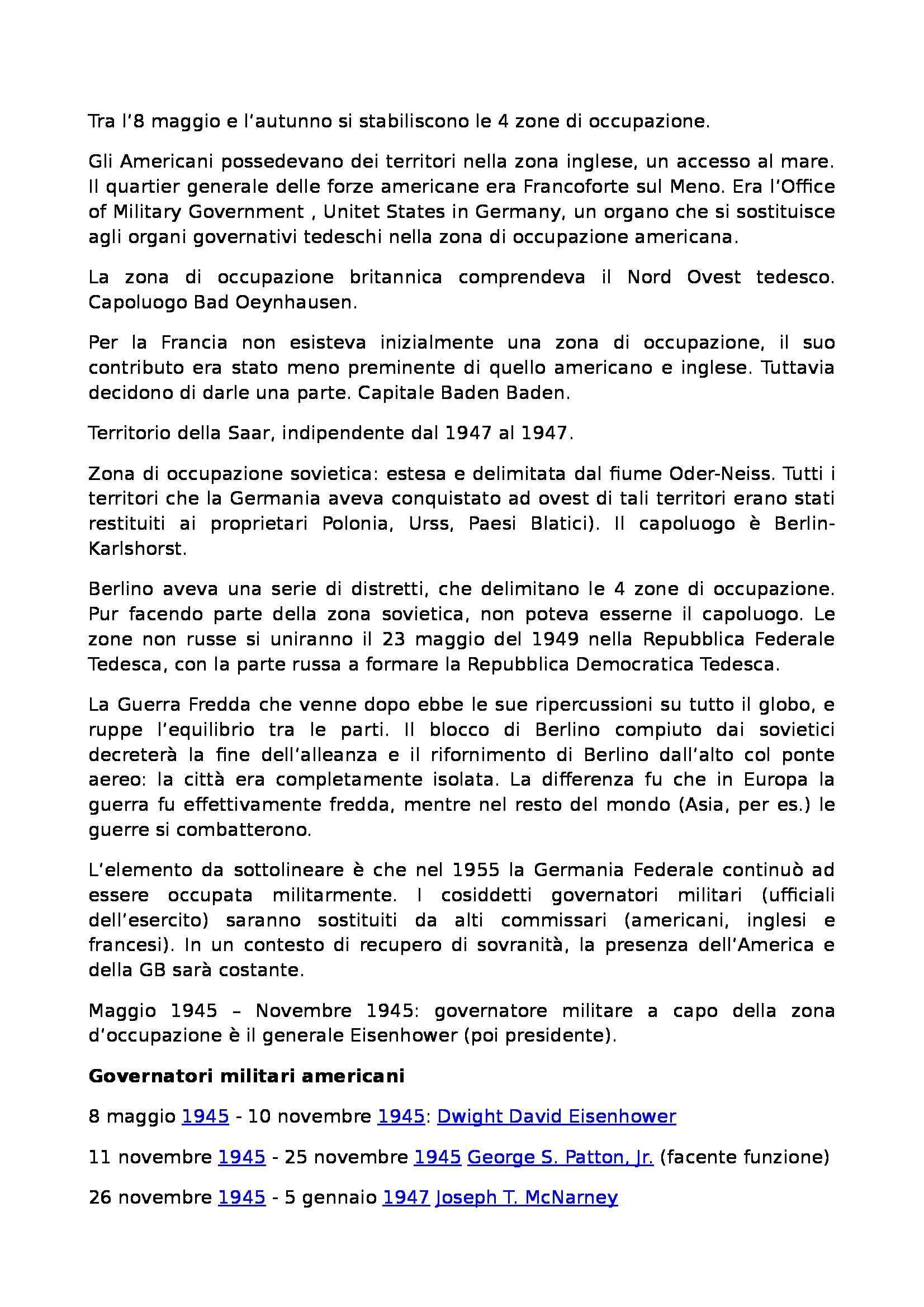 Laboratorio di storia delle relazioni euro atlantiche - Appunti Pag. 36