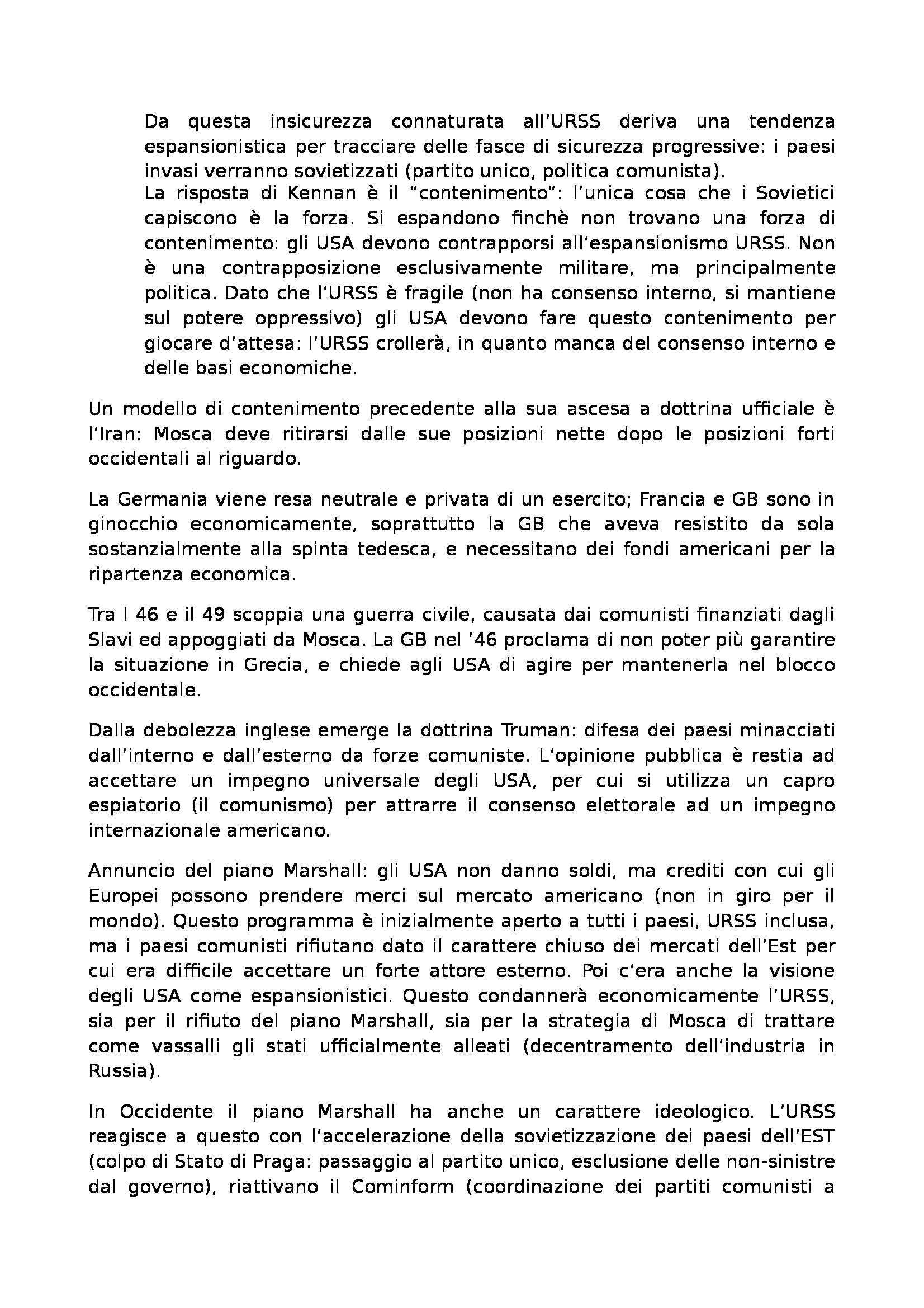 Laboratorio di storia delle relazioni euro atlantiche - Appunti Pag. 41