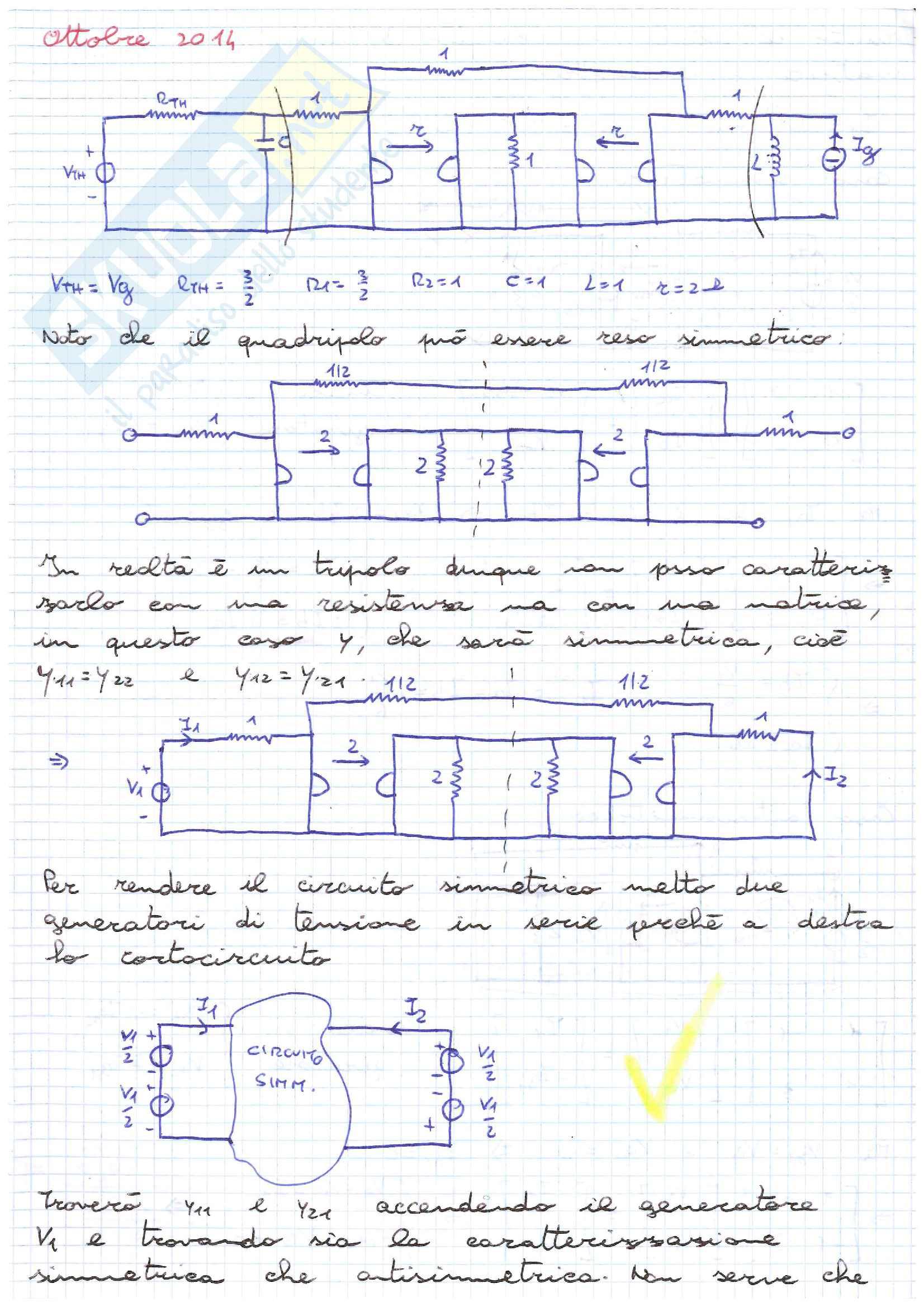 Elettrotecnica es. 2