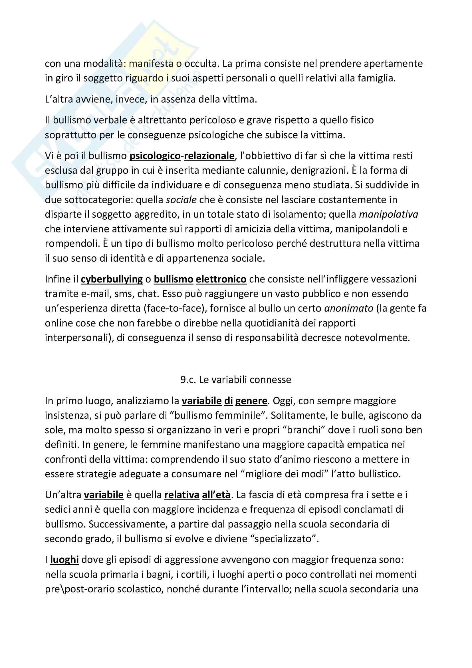"""Riassunto esame pedagogia generale, prof. A.Michelin, libro consigliato """"Snodi e riflessioni di pedagogia"""", Autore """"Michelin-Salomon"""" Pag. 21"""