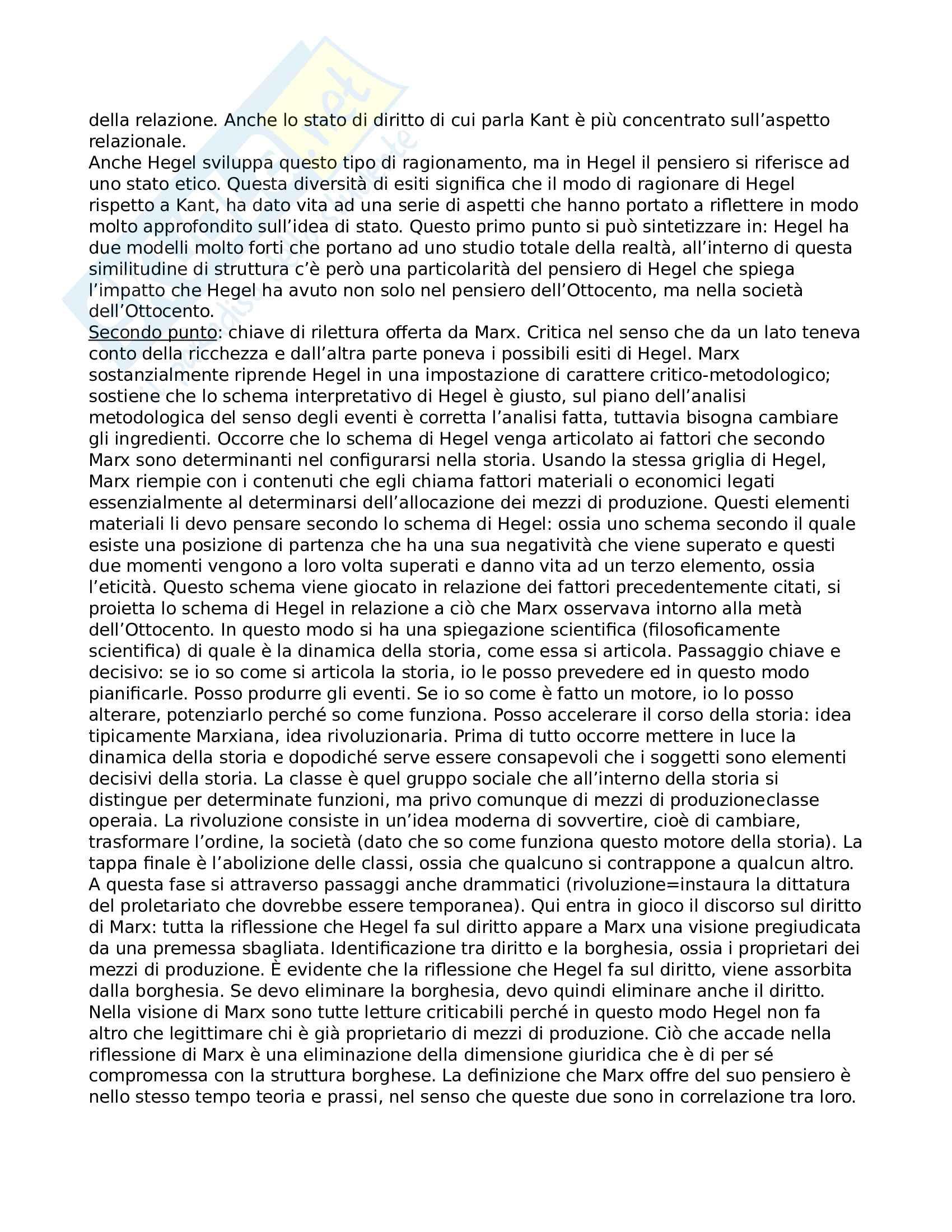 Riassunto esame filosofia del diritto, prof. Bombelli Pag. 21