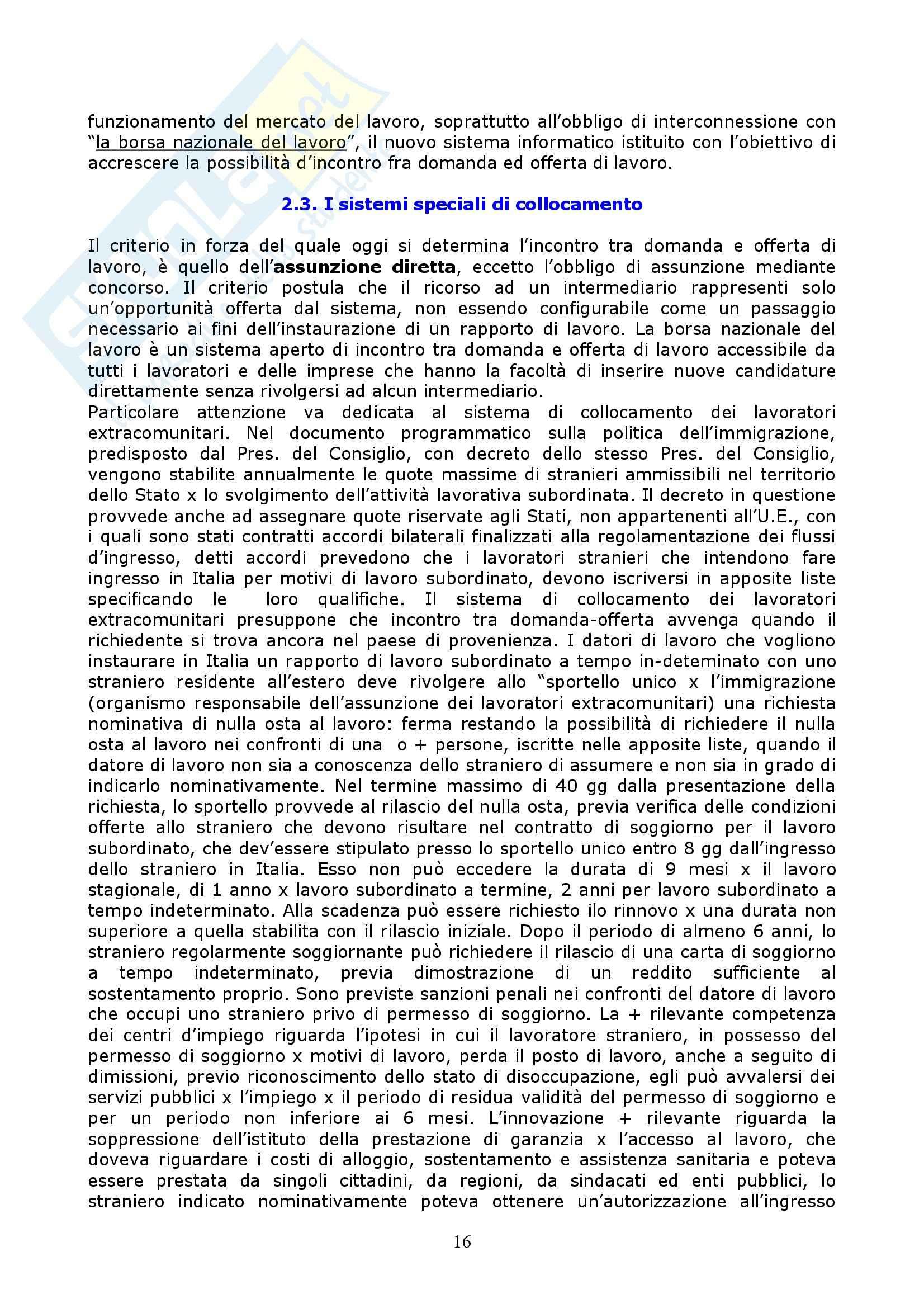 Riassunto esame Diritto del Lavoro, prof. Vettor, libro consigliato Manuale di Diritto del Lavoro, Roccella Pag. 16