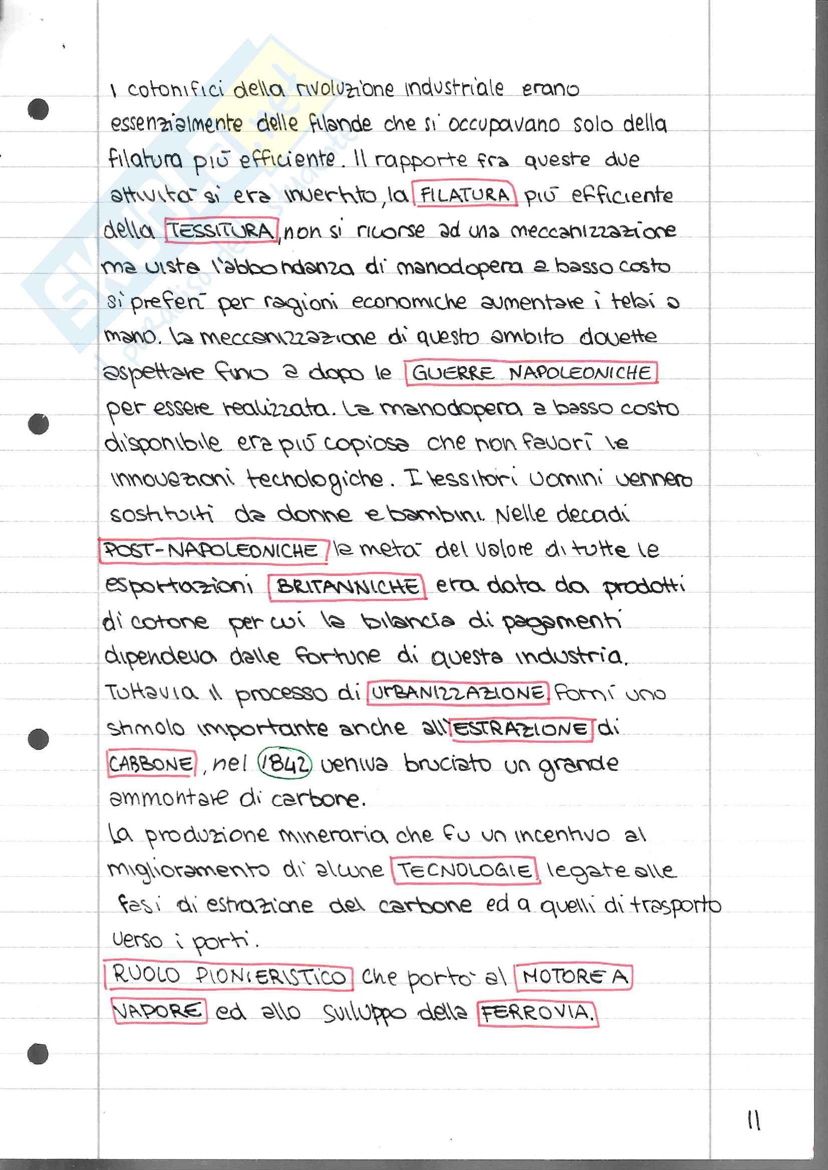 Appunti sulla storia dell'Inghilterra vittoriana per Letteratura Inglese 2 Pag. 11