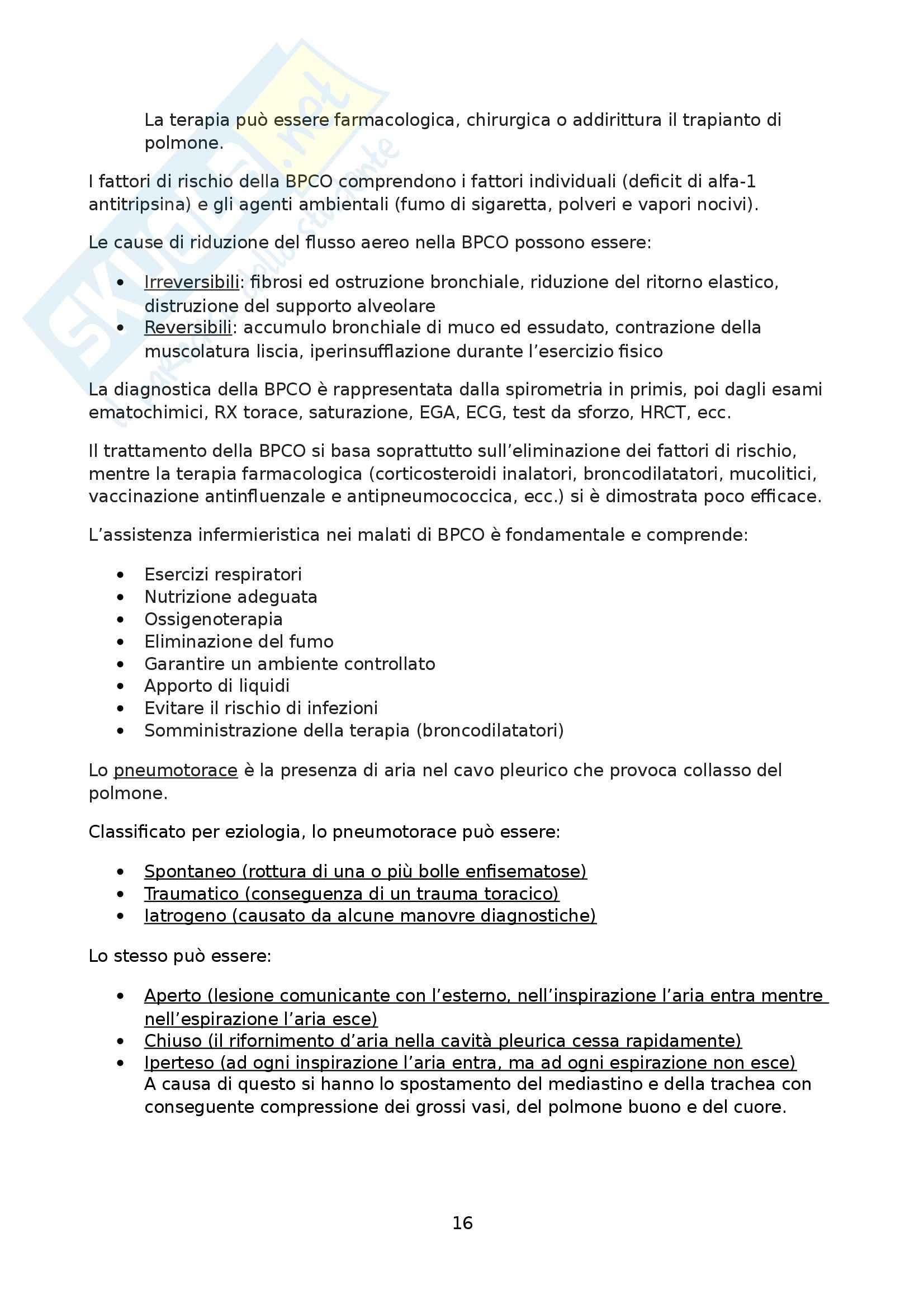 Medicina interna - infermieristica medica Pag. 16