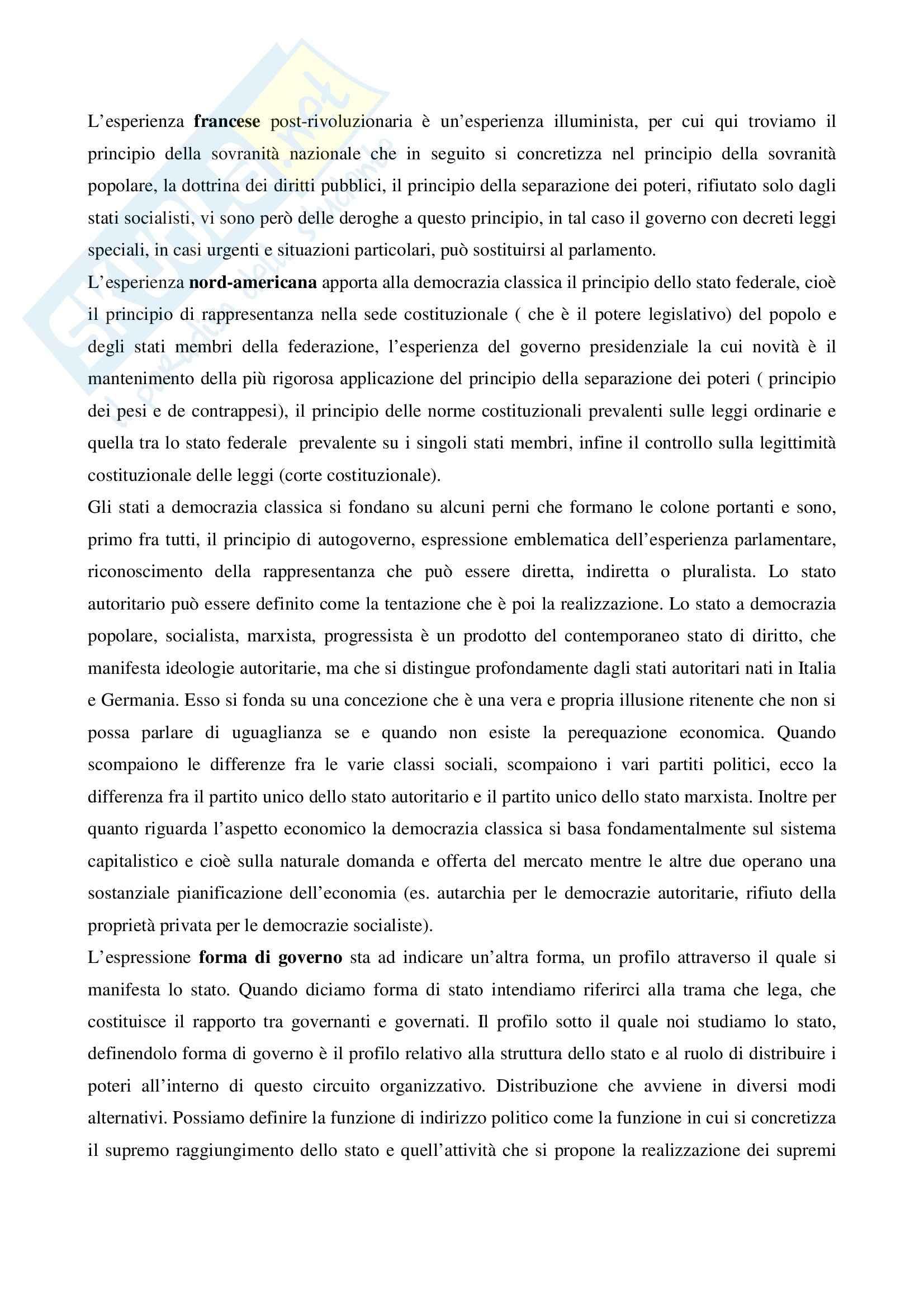 Riassunto esame Istituzioni Diritto Pubblico, prof. Lauricella, libro consigliato Istituzioni di Diritto Pubblico, Martines Pag. 6