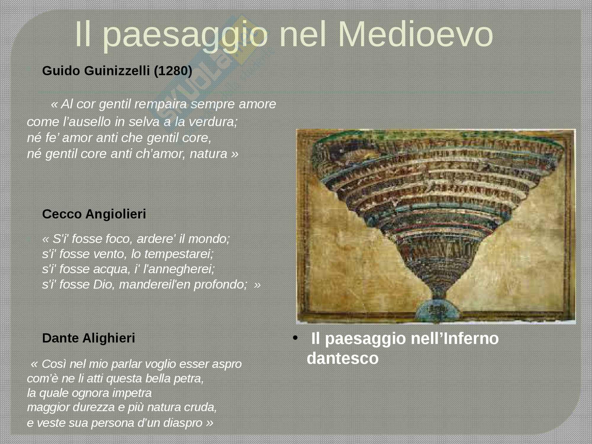 Il paesaggio nella letteratura italiana Pag. 2