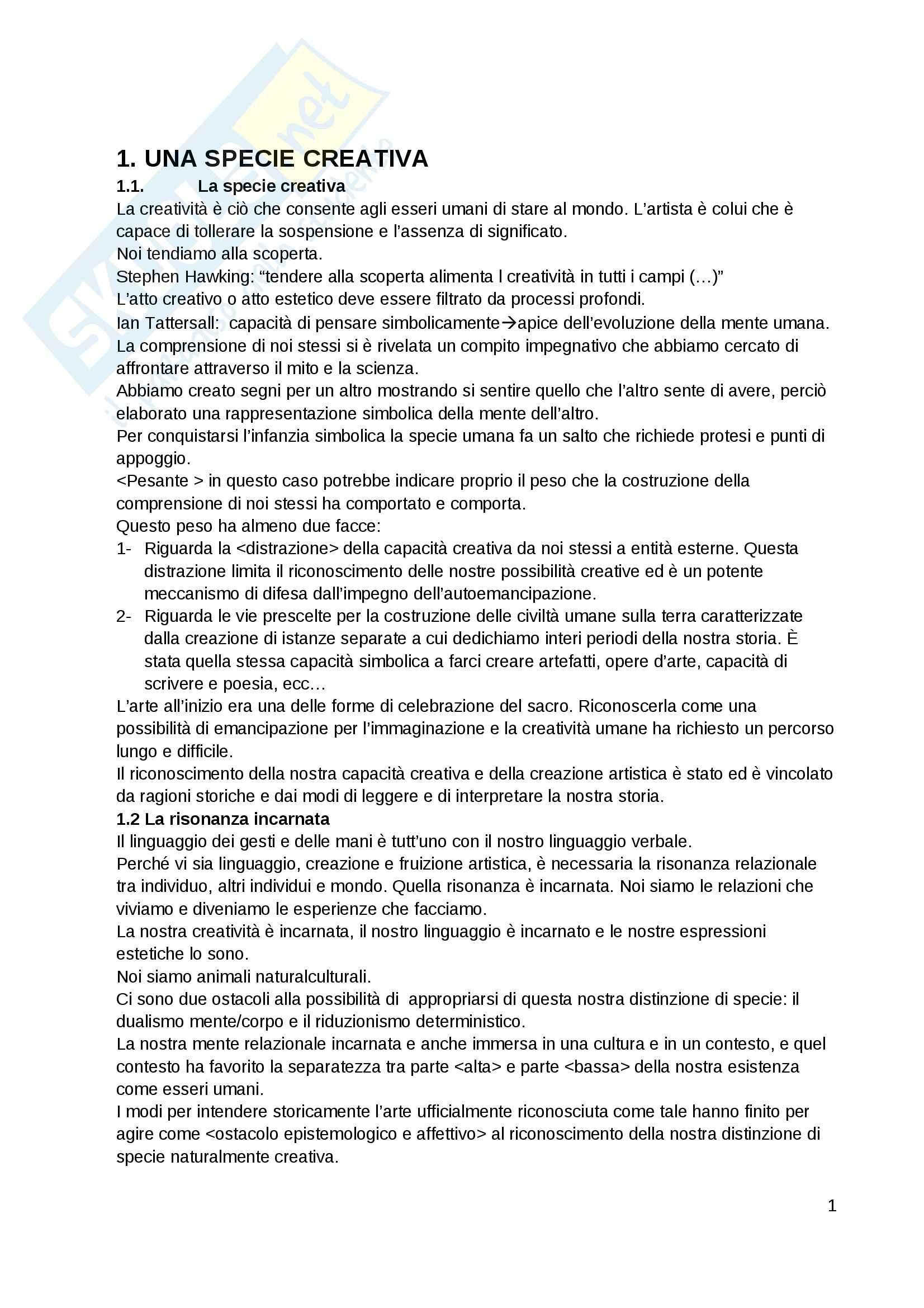 Riassunto esame Psicologia del lavoro, prof. Morelli, libro consigliato Mente e bellezza