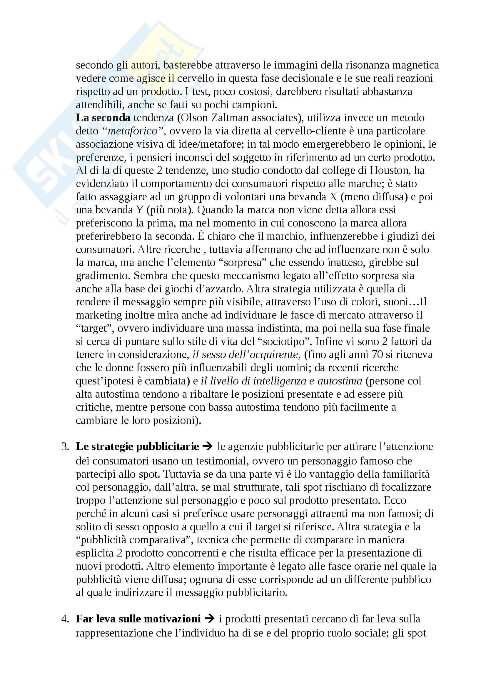 Riassunto esame Psicologia sociale, prof. Smiraglia Pag. 26