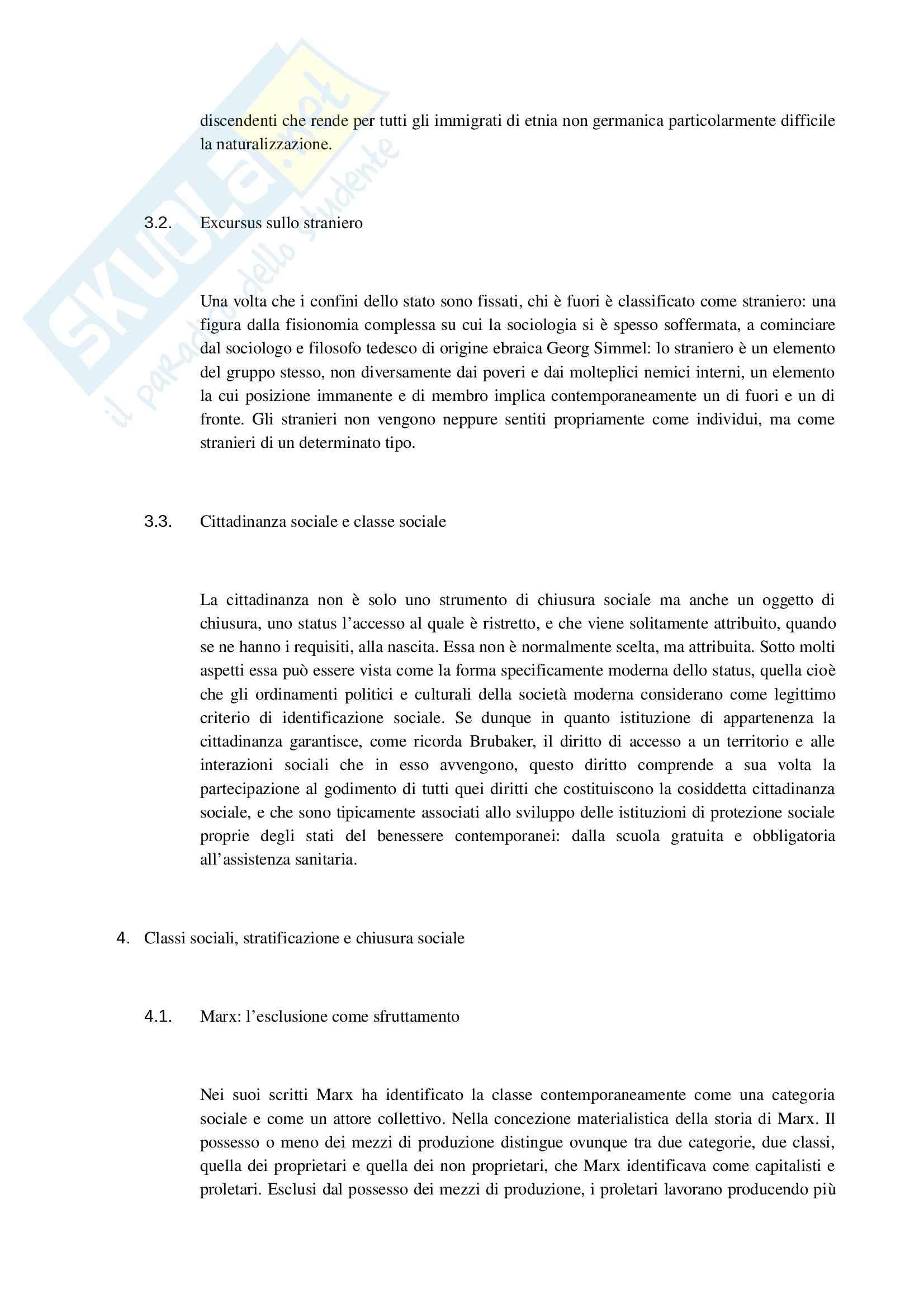 Riassunto esame Sociologia dei processi culturali, prof. Protti, libro consigliato Invito allo studio della Società, Giglioli Pag. 6