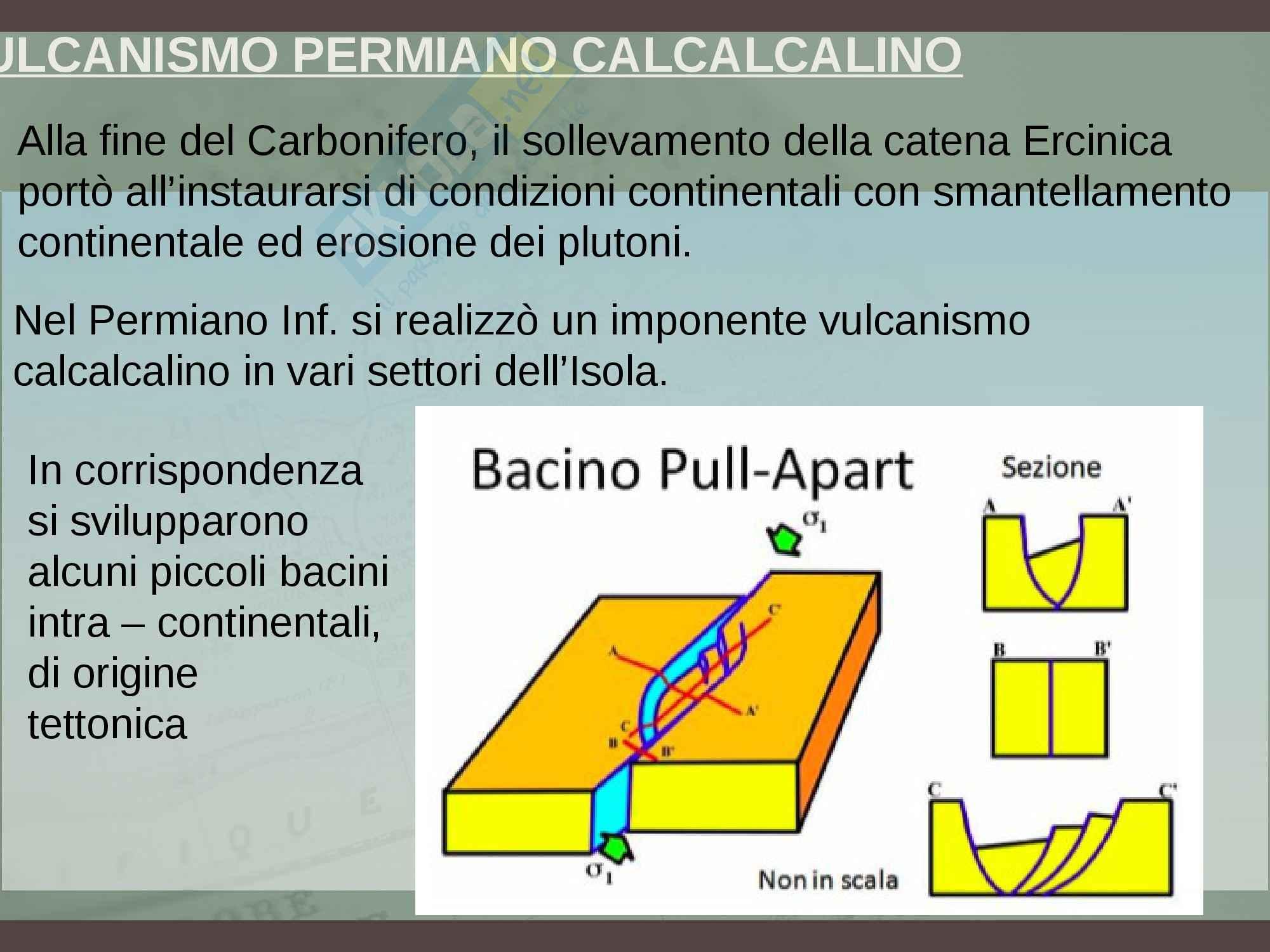 Inquadramento geologico della Sardegna, Geologia Pag. 36