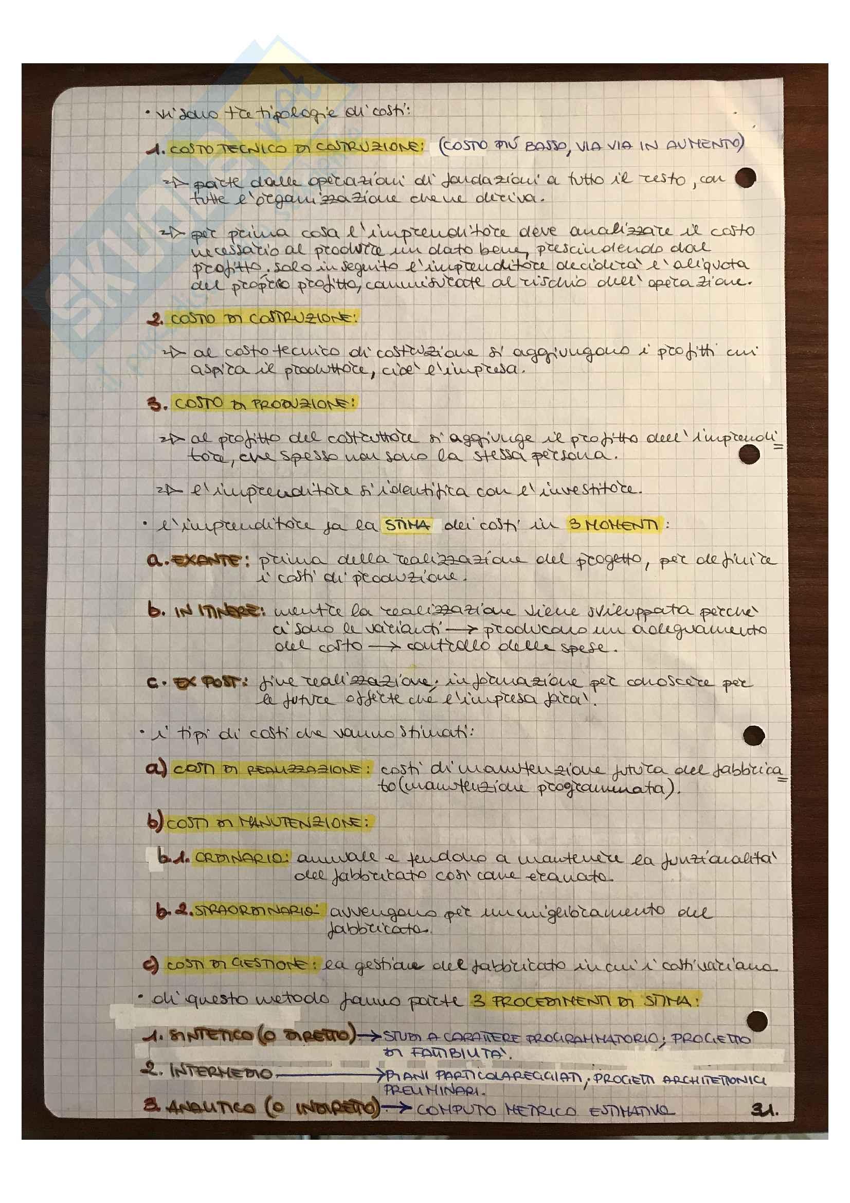 Estimo civile, appunti Pag. 31