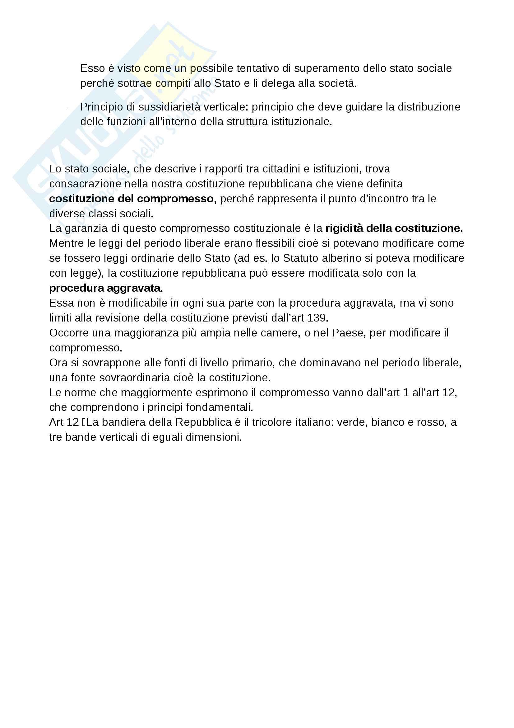 Stato: forme ed evoluzione - diritto pubblico Pag. 6