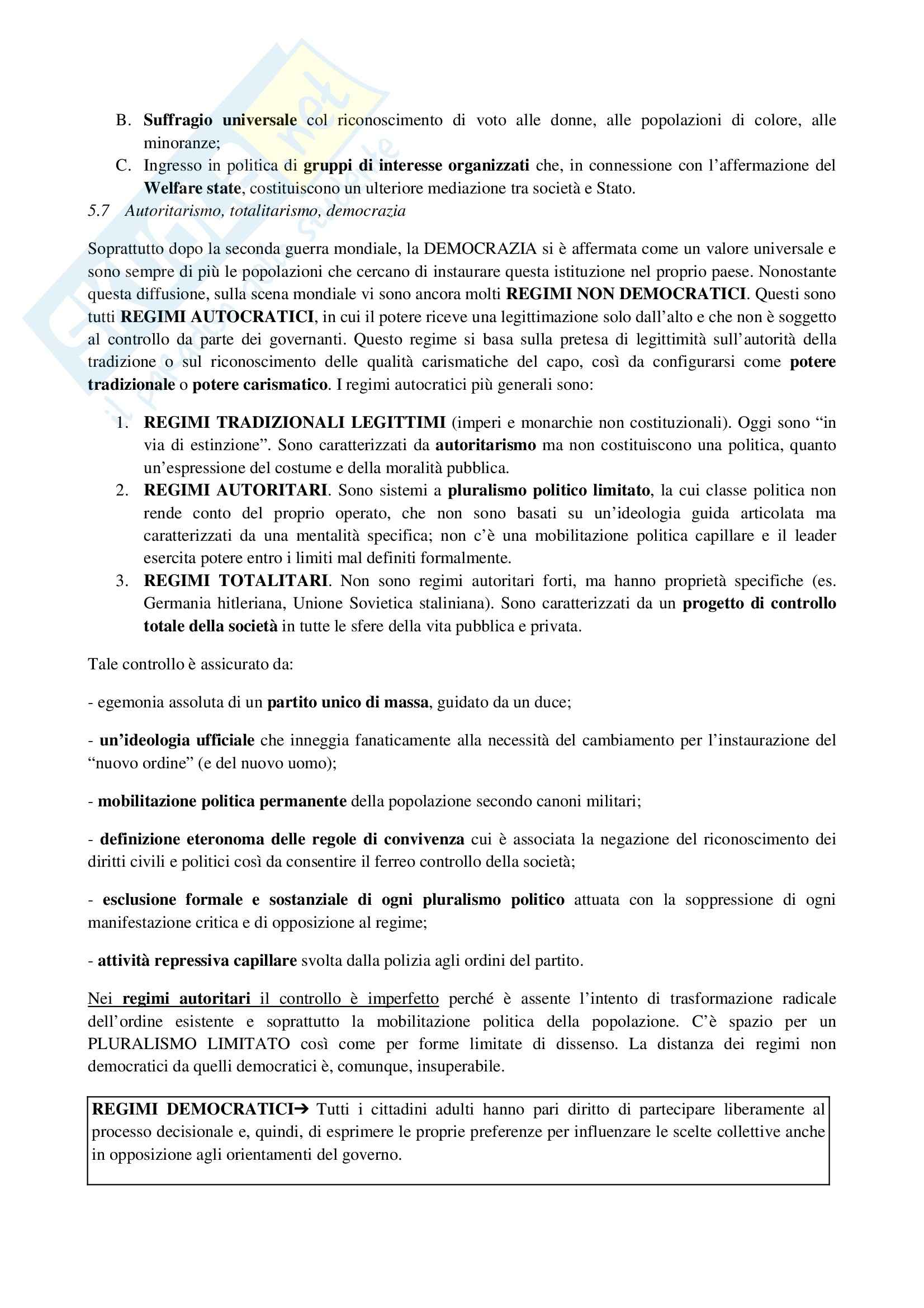 Riassunto esame Sociologia generale, prof. Moro, libro consigliato Manuale di sociologia, Gallino Pag. 16
