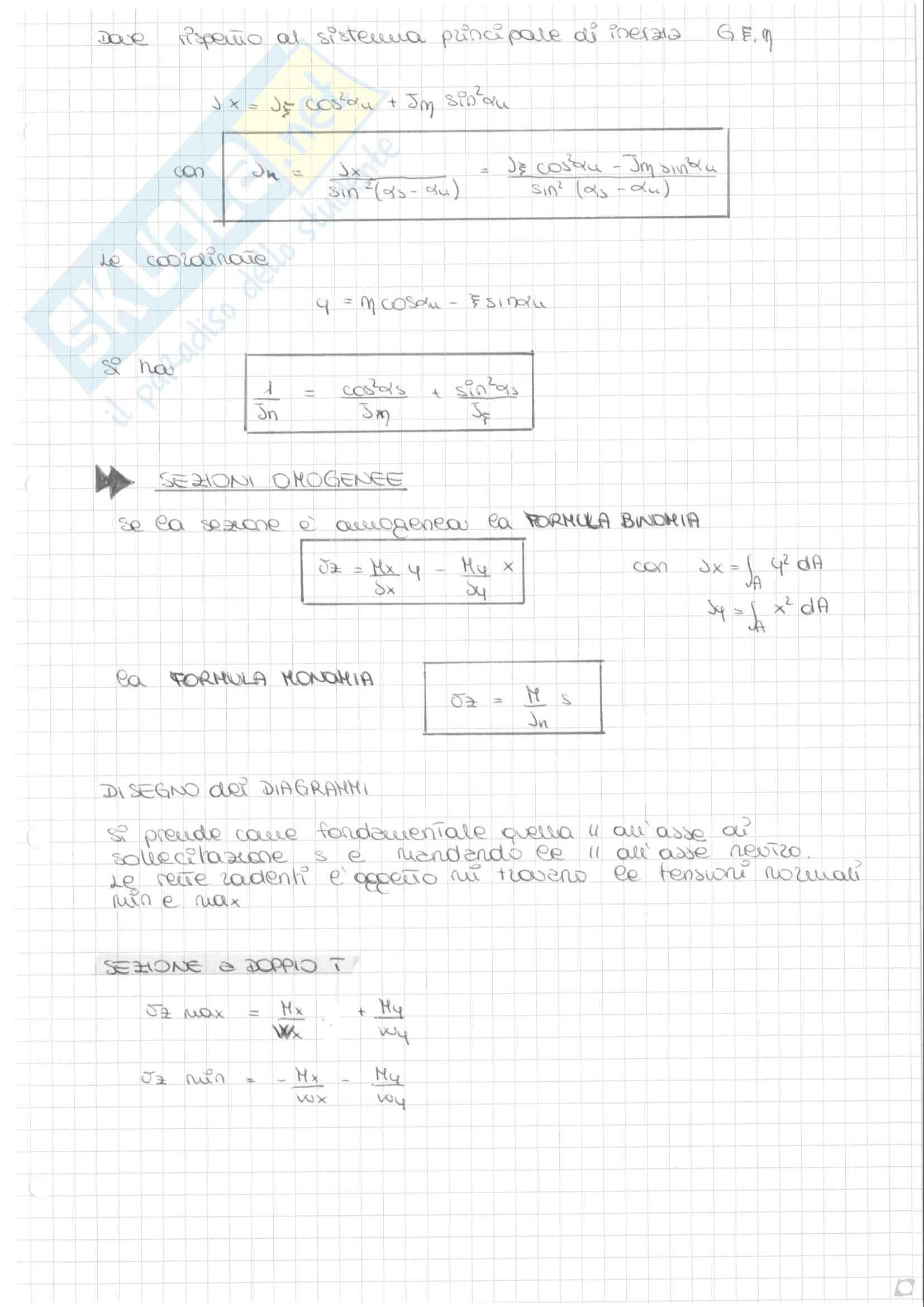 Scienza delle costruzioni - Travi isostatiche e iperstatiche Pag. 11