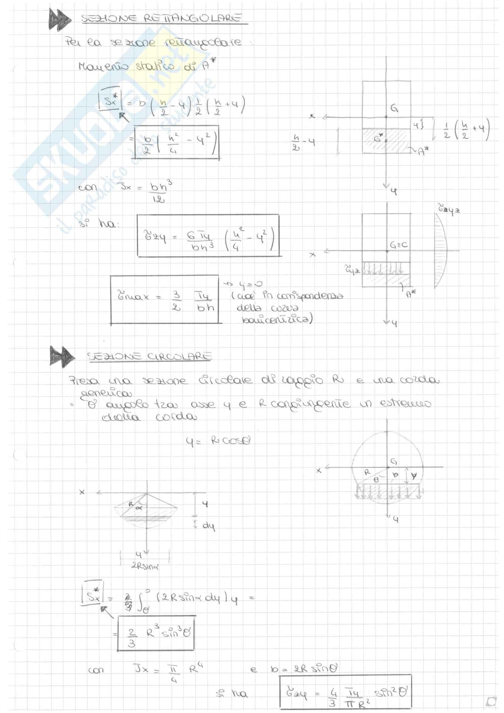 Scienza delle costruzioni - Travi isostatiche e iperstatiche Pag. 21