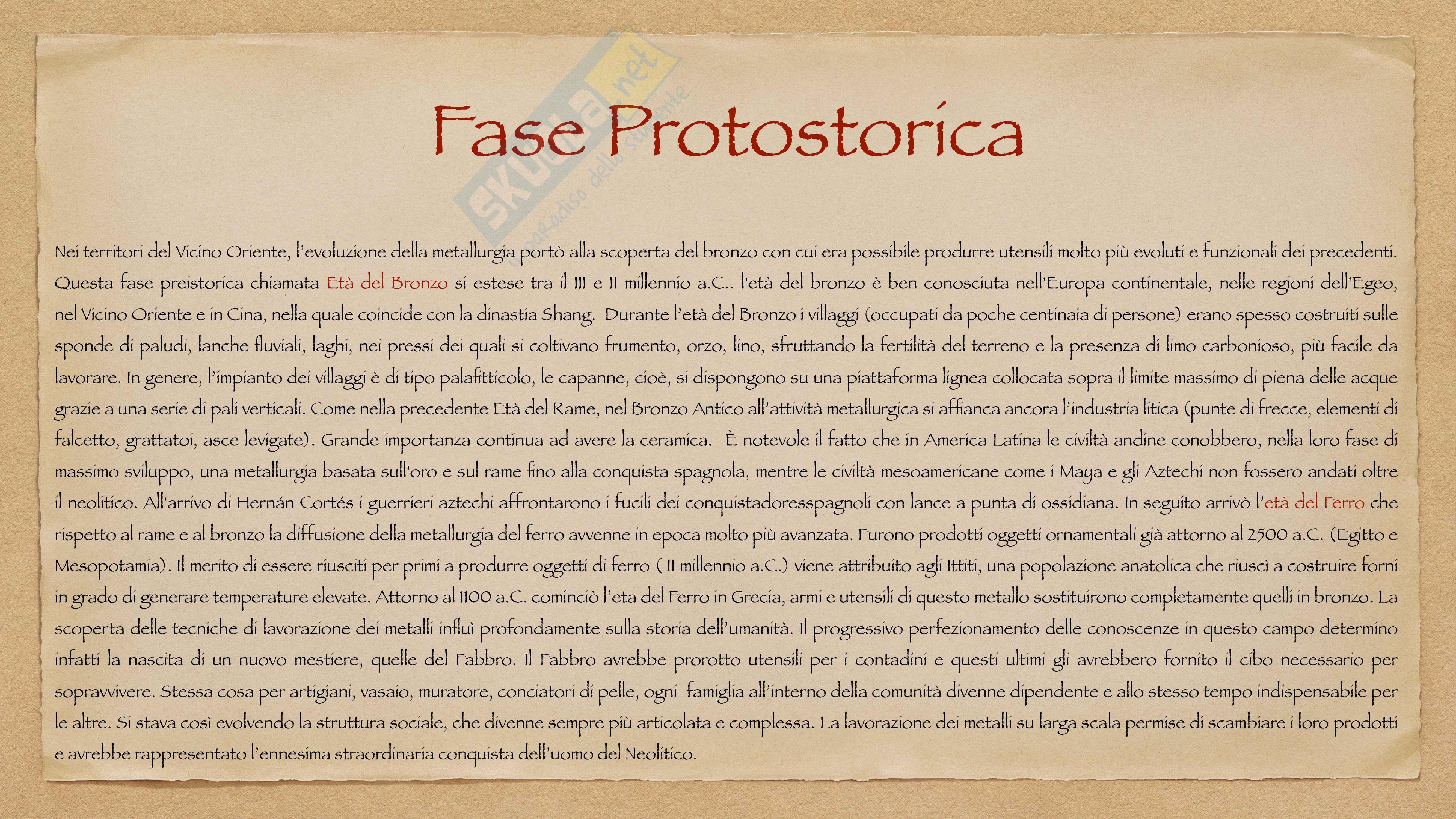 Preistoria - Nascita ed evoluzione dell'uomo Pag. 6