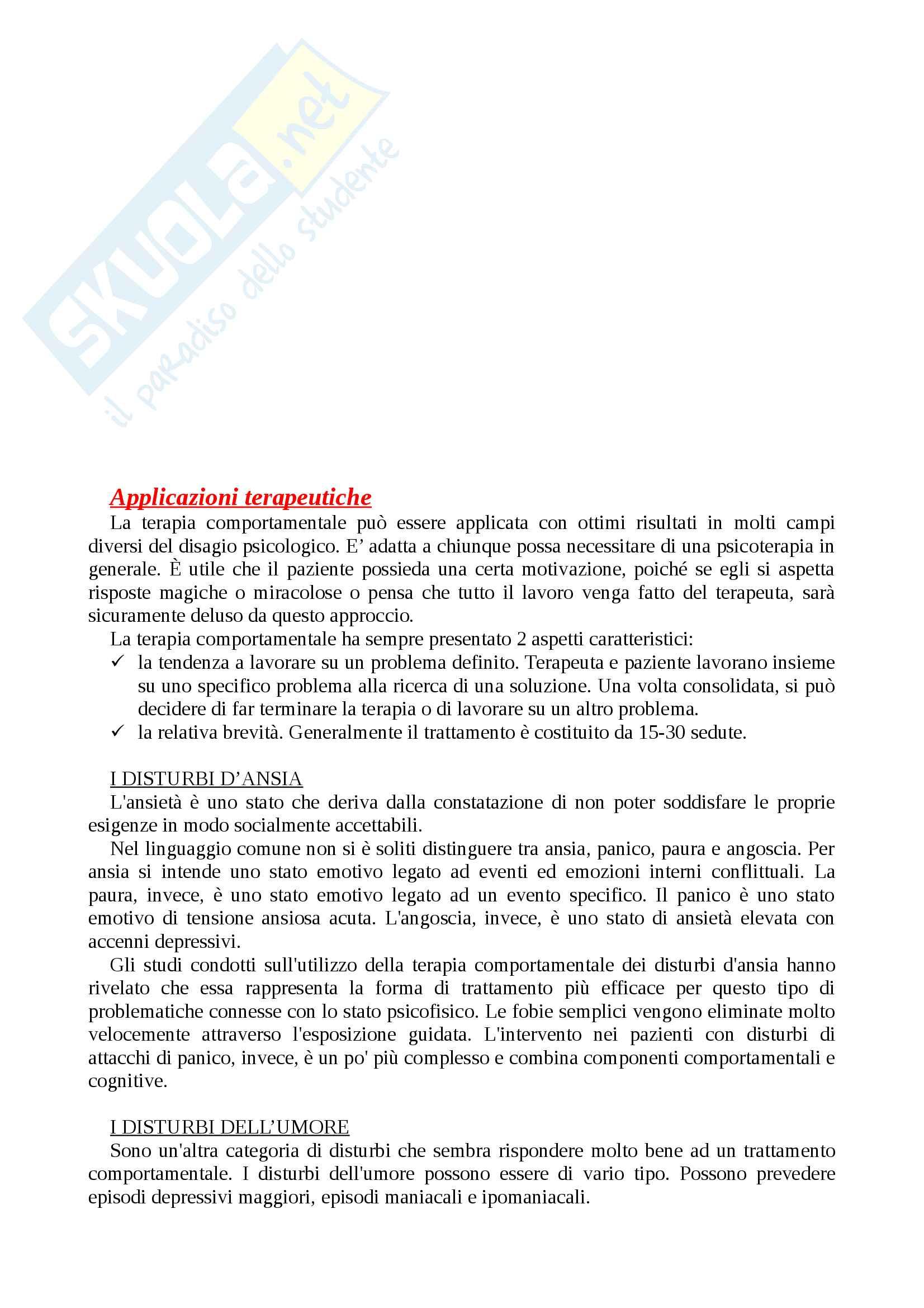 """Riassunto esame psicologia generale, prof Renzi, testo consigliato Il comportamentismo. Alla scoperta della natura delle azioni dell'uomo"""" di E. Balconi Pag. 16"""