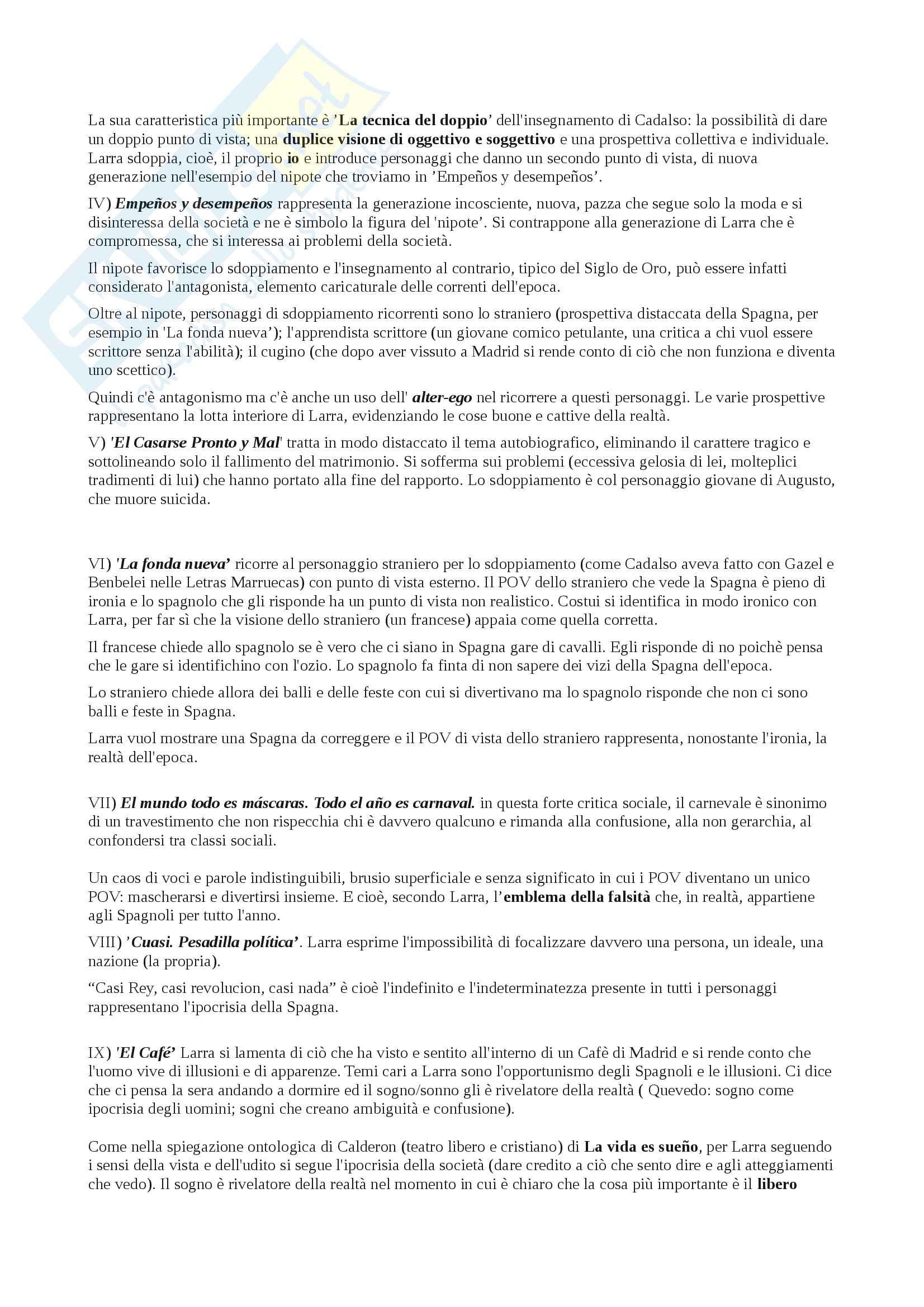 Appunti su Mariano José De Larra aa 2013 Pag. 2