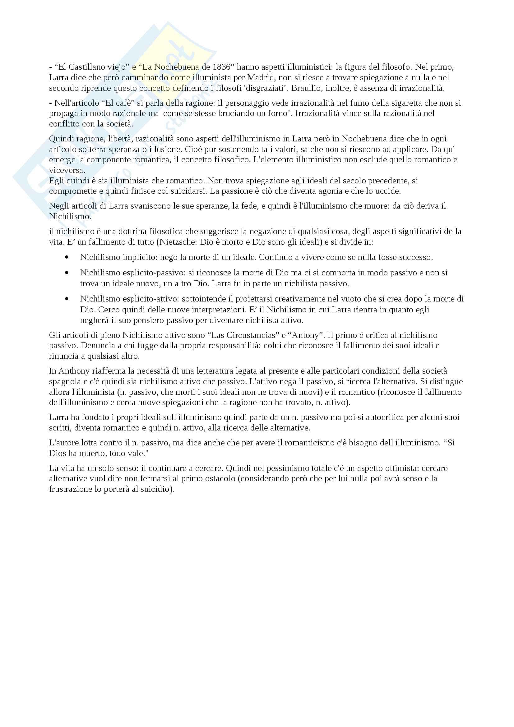 Appunti su Mariano José De Larra aa 2013 Pag. 6