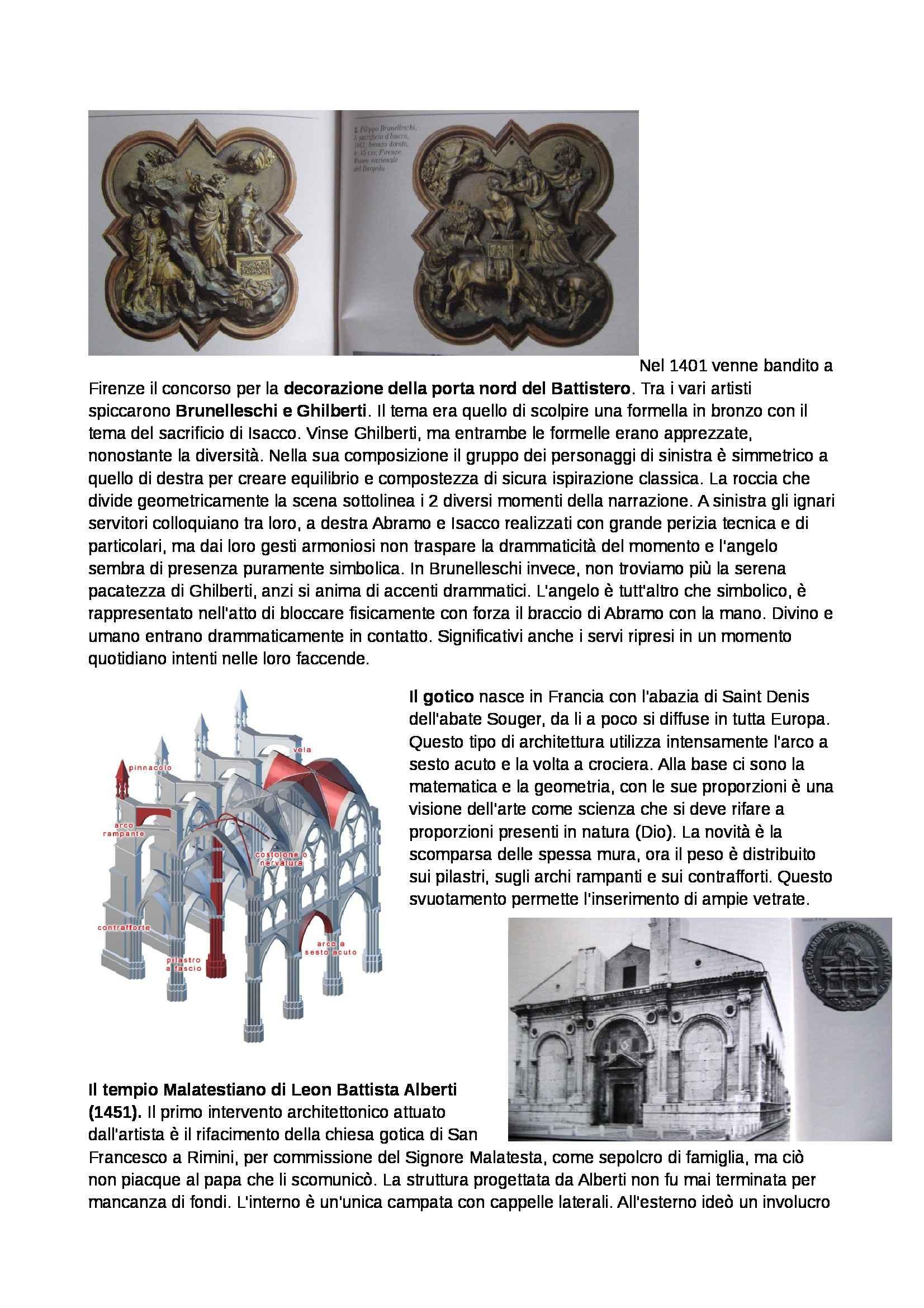 appunto S. Salvagnini Storia dell'arte