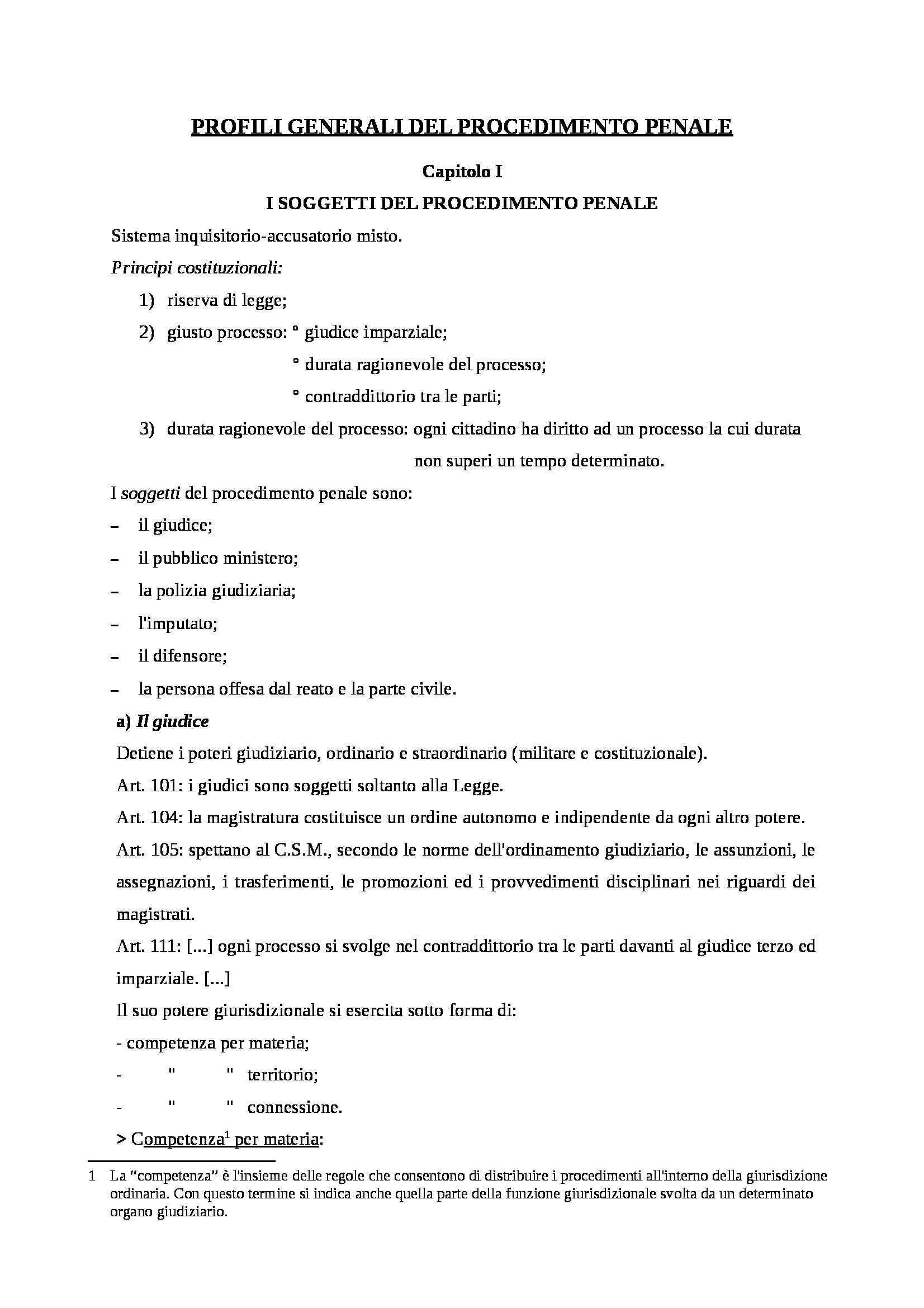 Riassunto esame Procedura Penale, prof. Scalfati, libro consigliato Procedura Penale, Tonini