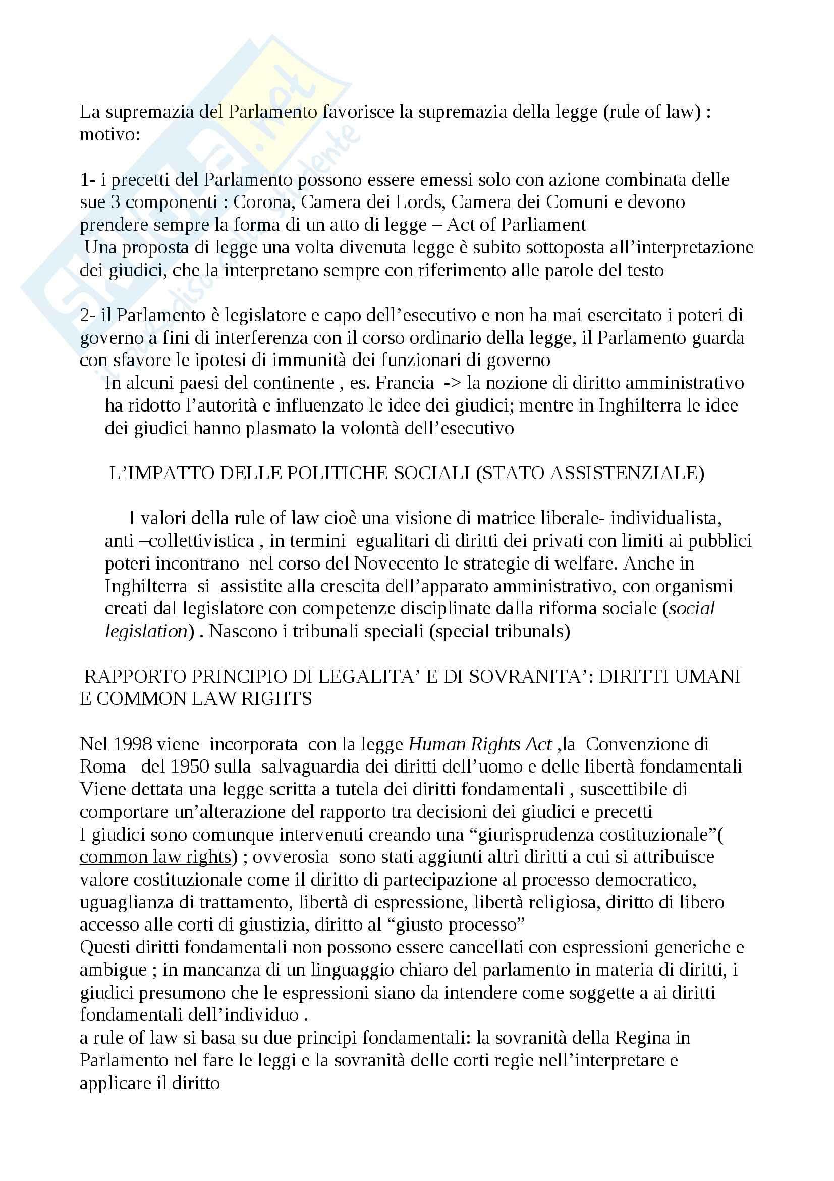 Riassunto esame Diritto, prof. Calzolaio, libro consigliato Comparazione giuridica e diritto europeo, Moccia Pag. 26