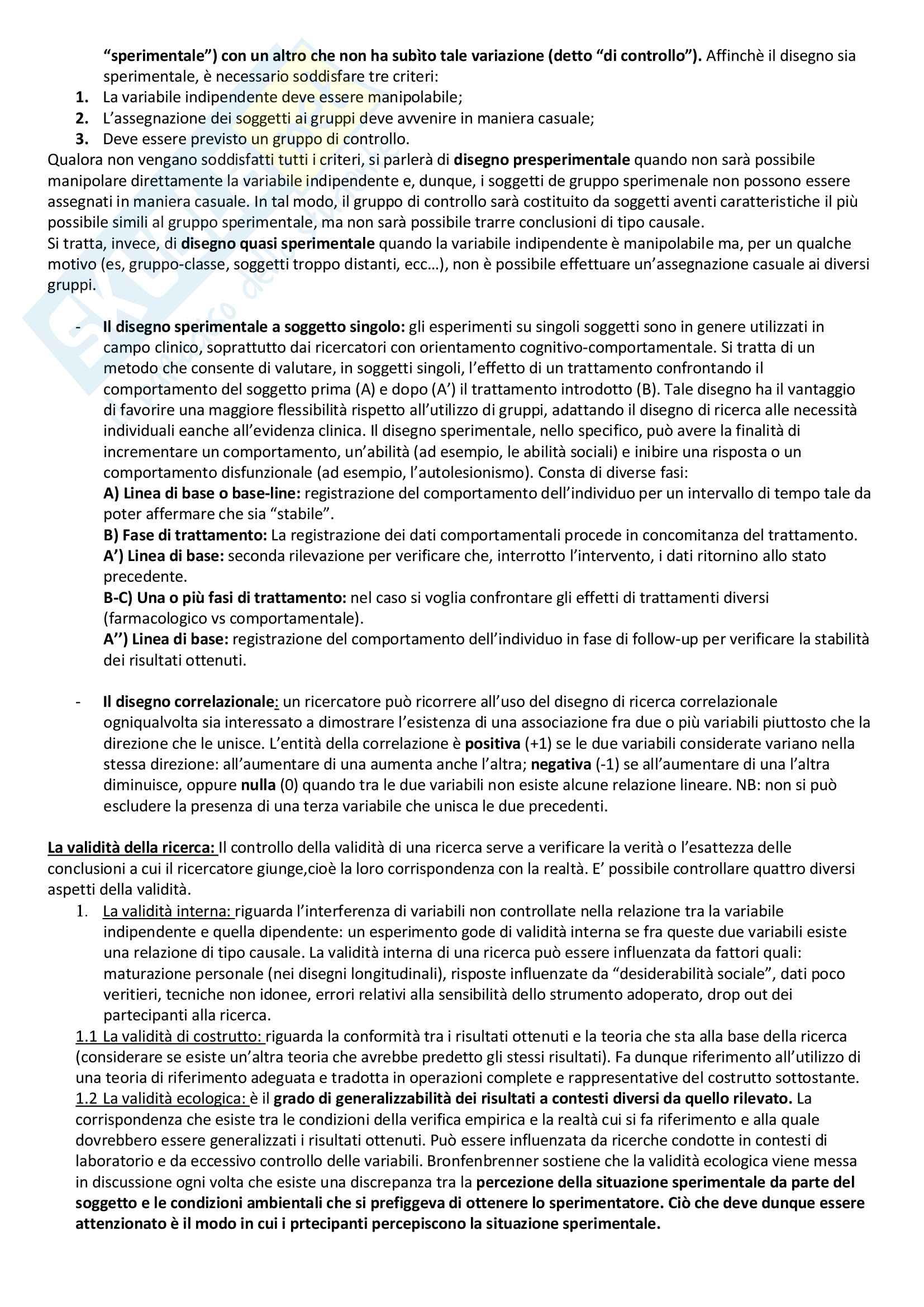 Riassunto per esame psicologia dello sviluppo tipico e atipico, prof. Longobardi, libro consigliato: Psicologia dello sviluppo, Barone Pag. 6