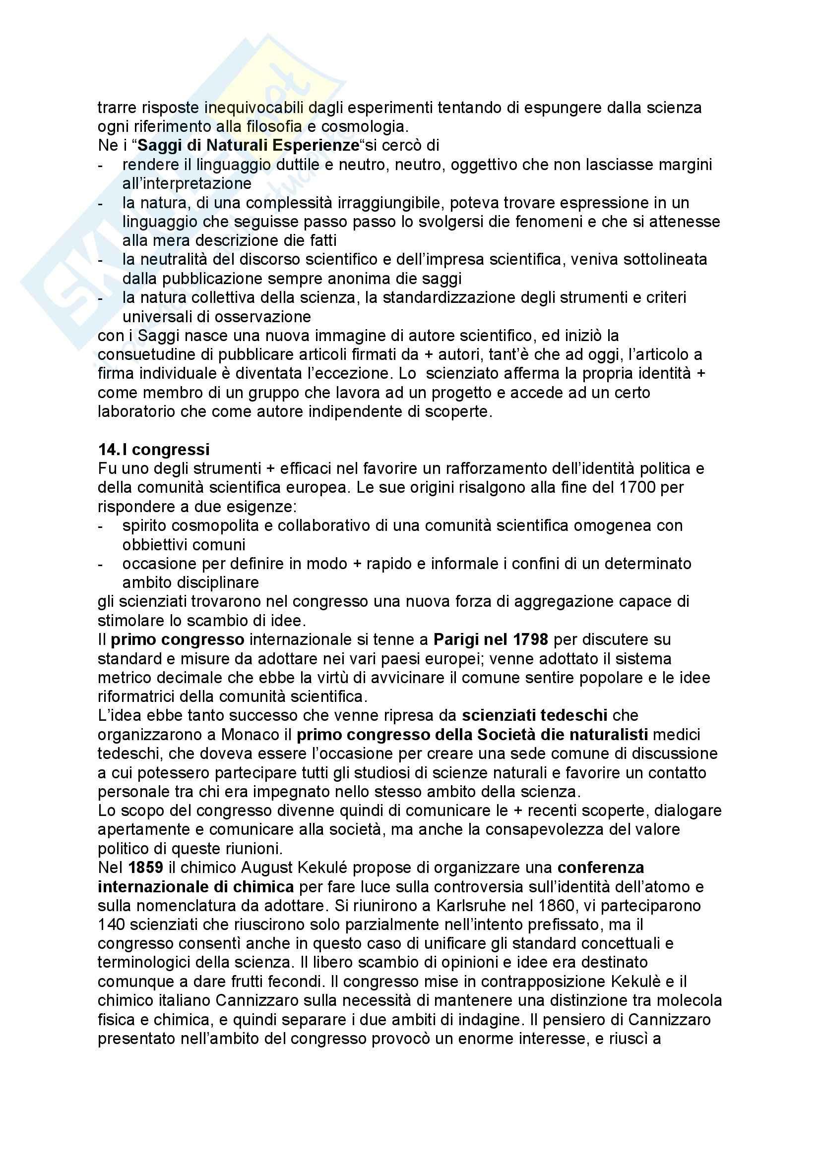 Storia della scienza e delle tecniche - storia materiale della scienza Pag. 11