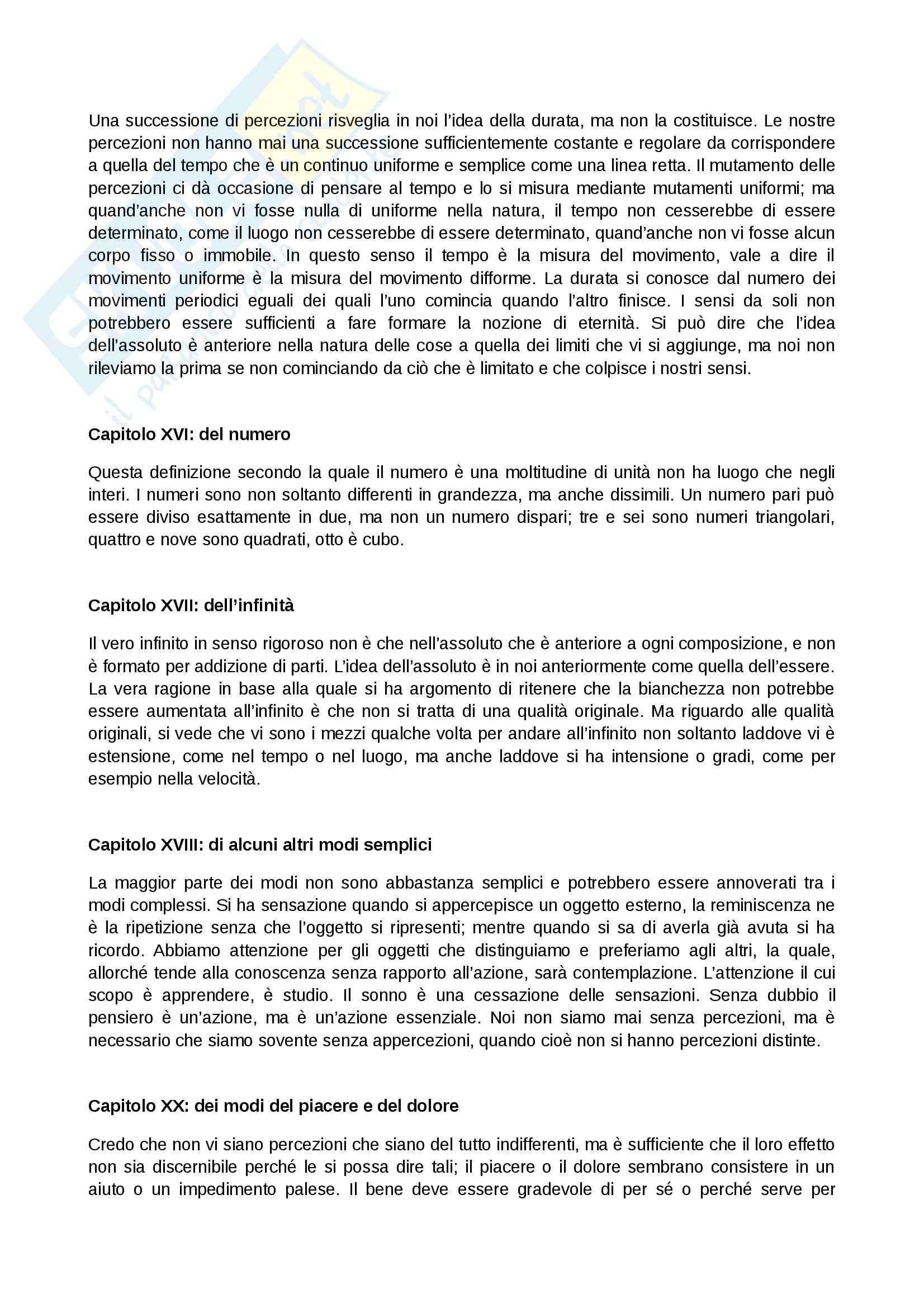 Nuovi Saggi Sull'Intelletto Umano di Leibniz - Riassunto Pag. 6