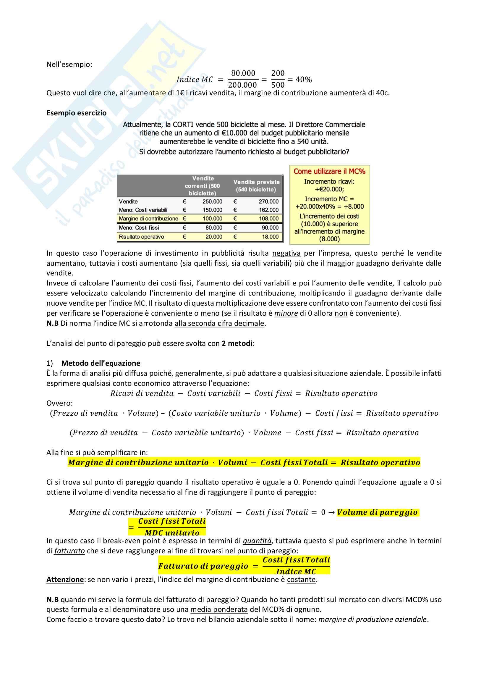 Programmazione e Controllo - Primo Parziale Pag. 6