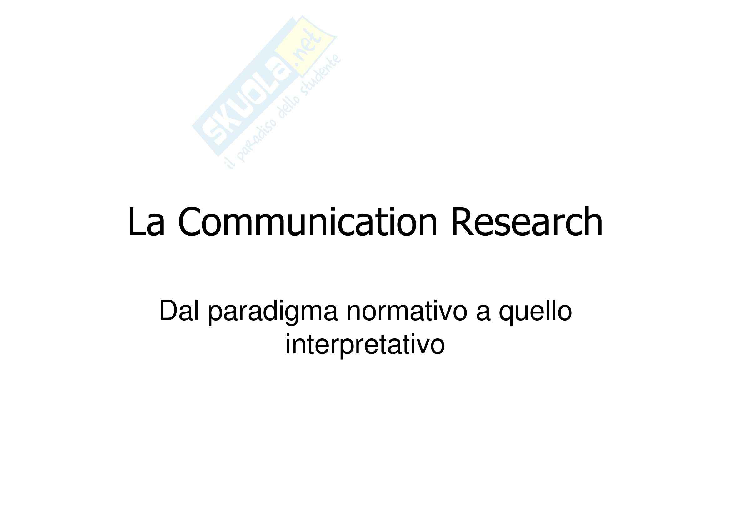 La Communication Research