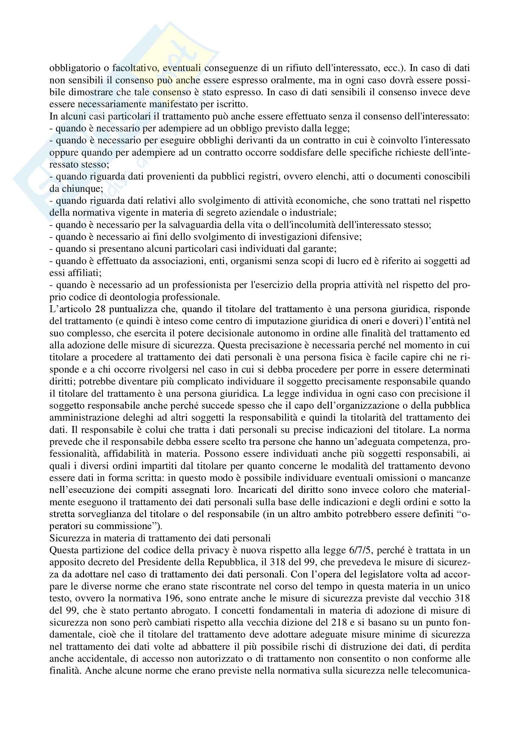Diritto dell'informatica - Appunti Pag. 16