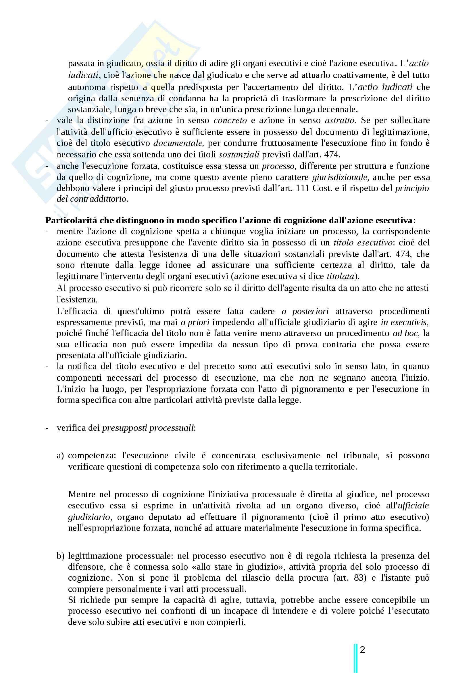 Riassunto esame Diritto processuale civile, prof. Ricci, libro consigliato Diritto processuale civile terzo volume, Ricci Pag. 2