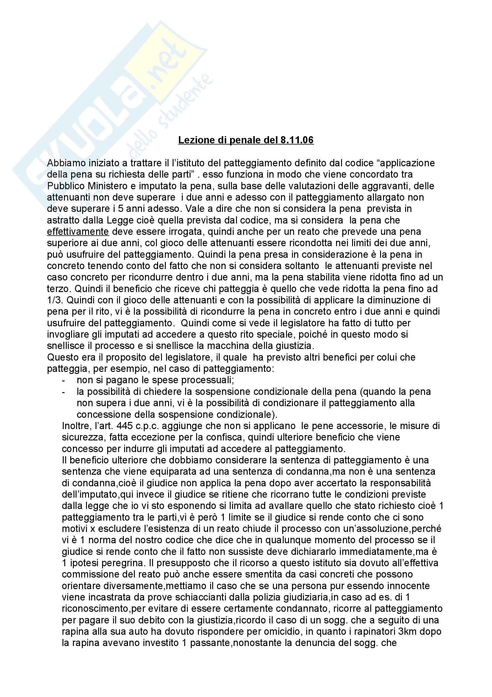 appunto F. De Martino Diritto Penale