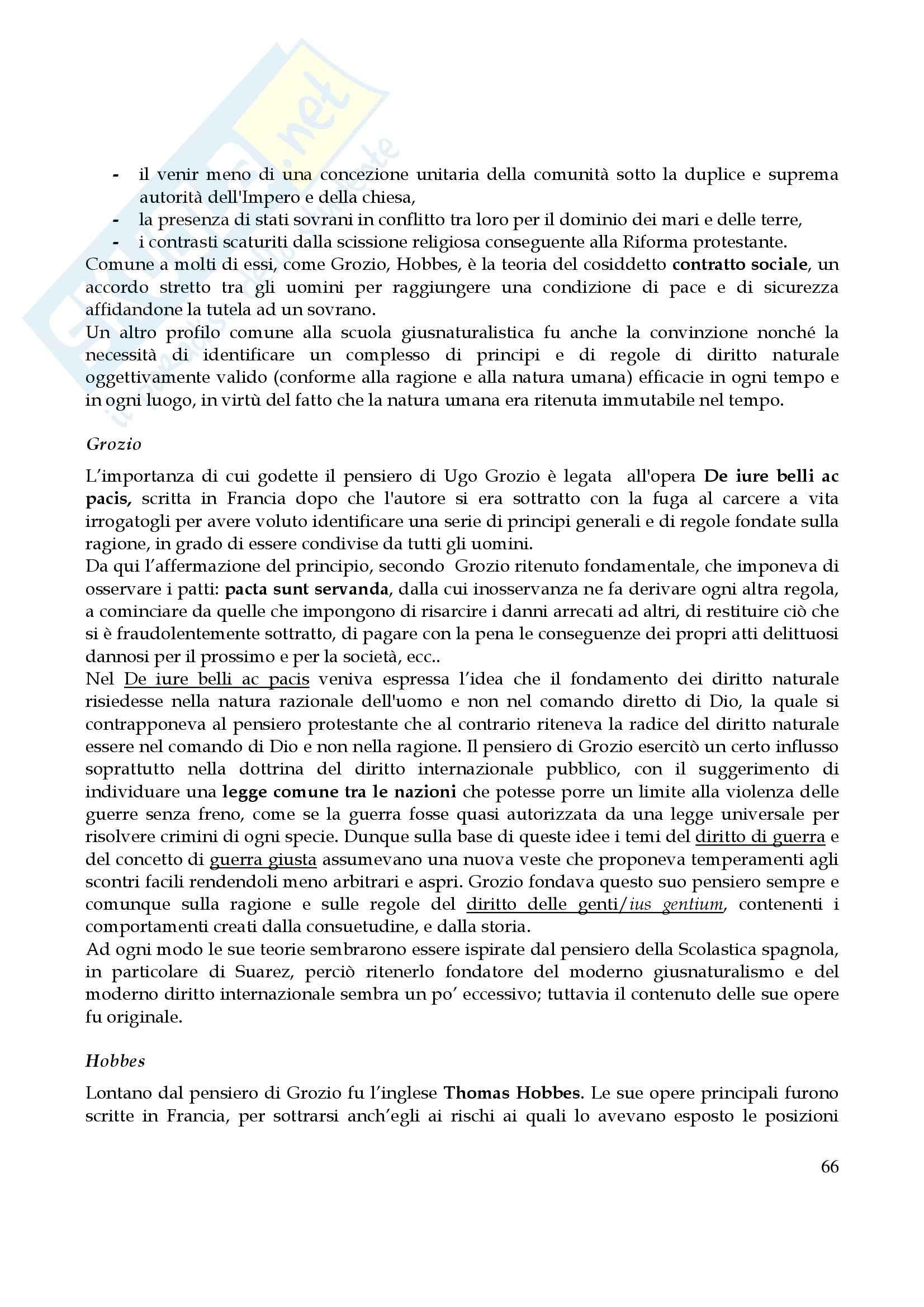 Riassunto esame Storia del Diritto Medievale e Moderno, prof. Rossi, libro consigliato Storia del Diritto in Europa, Padoa Schioppa Pag. 66