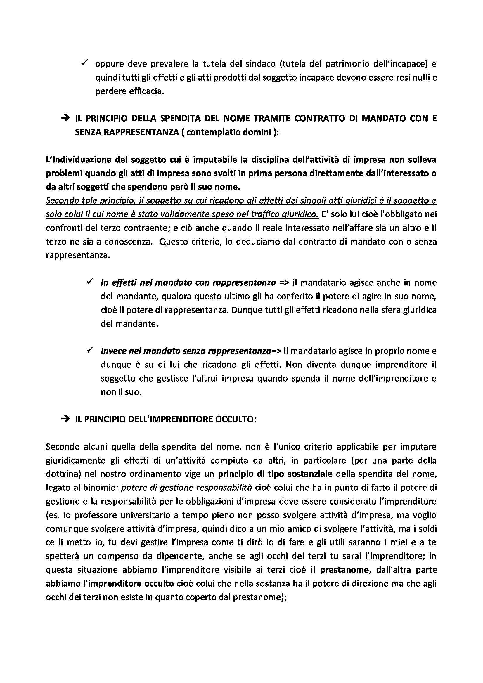 Diritto commerciale - Appunti Pag. 11